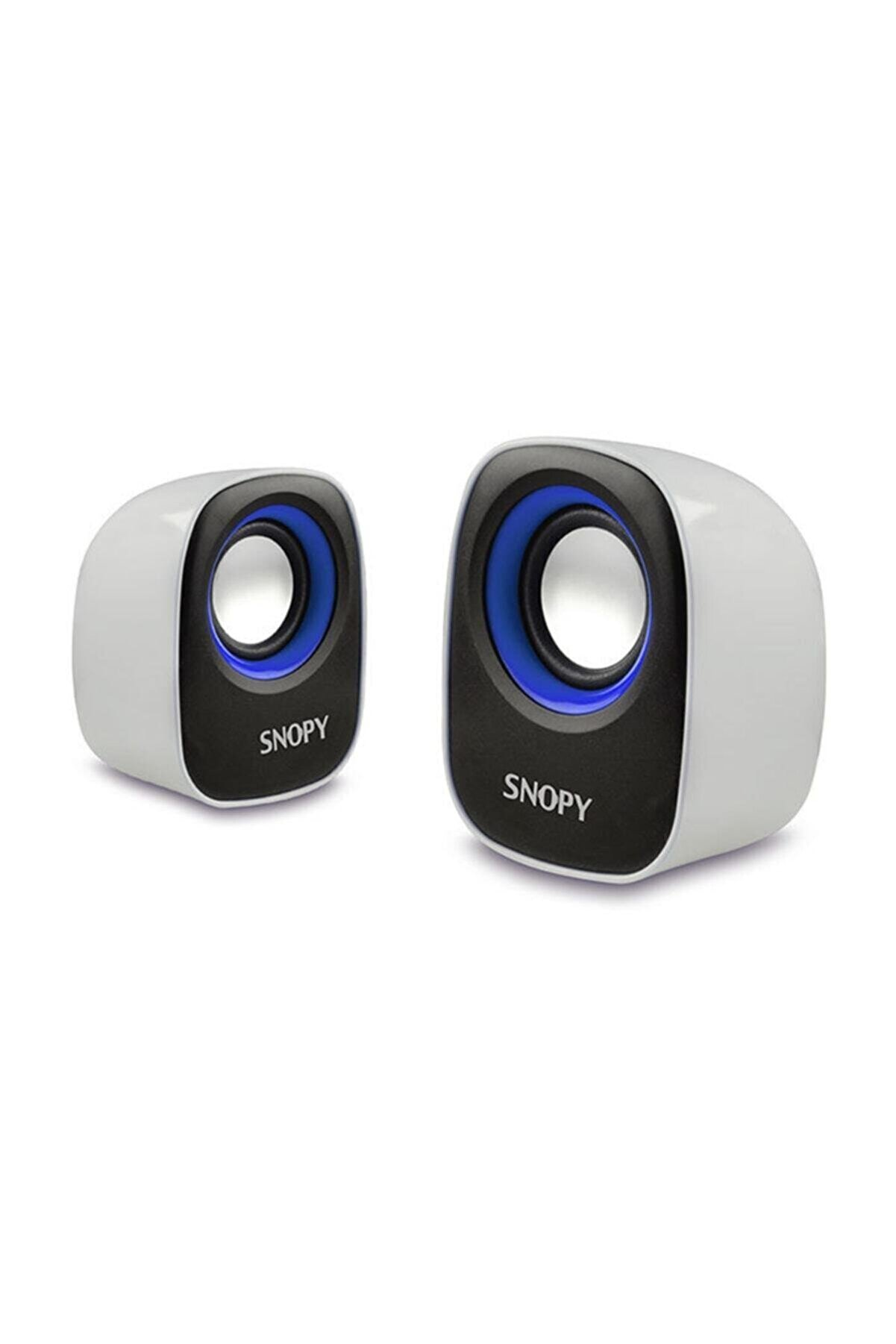 Snopy Sn-120 Beyaz-mavi Usb Speaker
