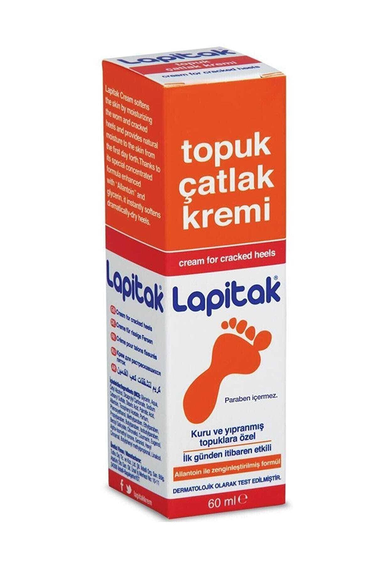 Lapitak Topuk Çatlak Bakım Kremi 60 ml