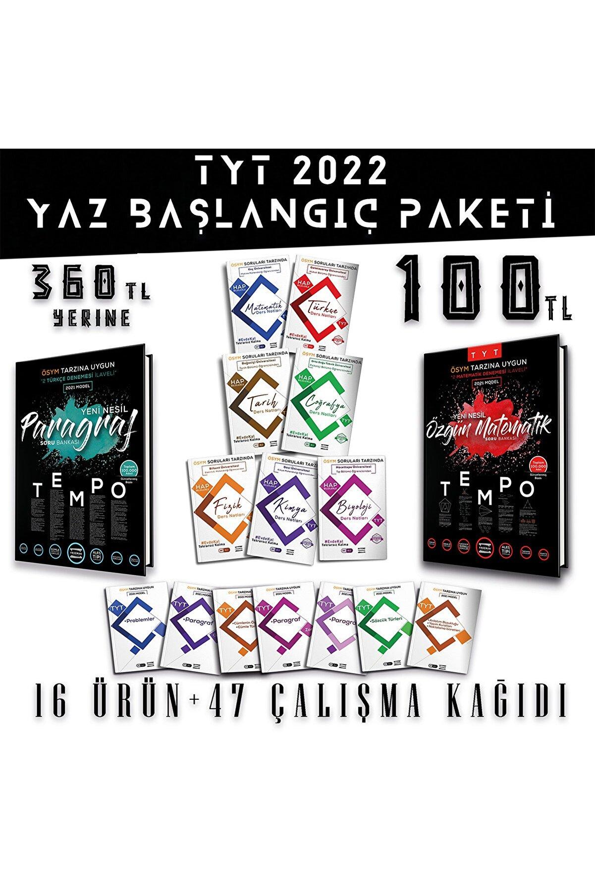Fragman Yayınları 2022 Tayfa Tyt Yaz Başlangıç Paketi 2022 Yks