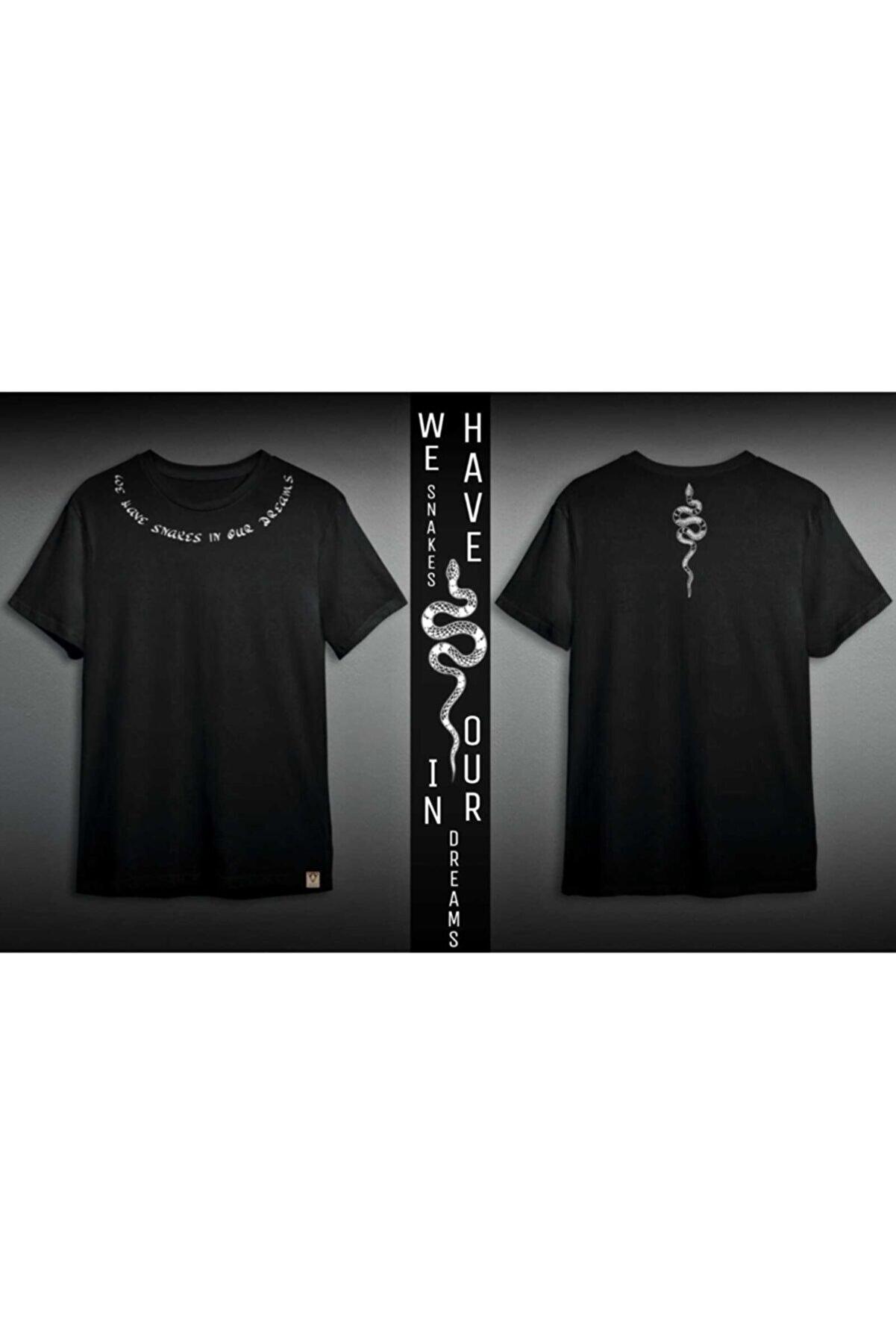AKESDESIGN Siyah Oversize Tişört