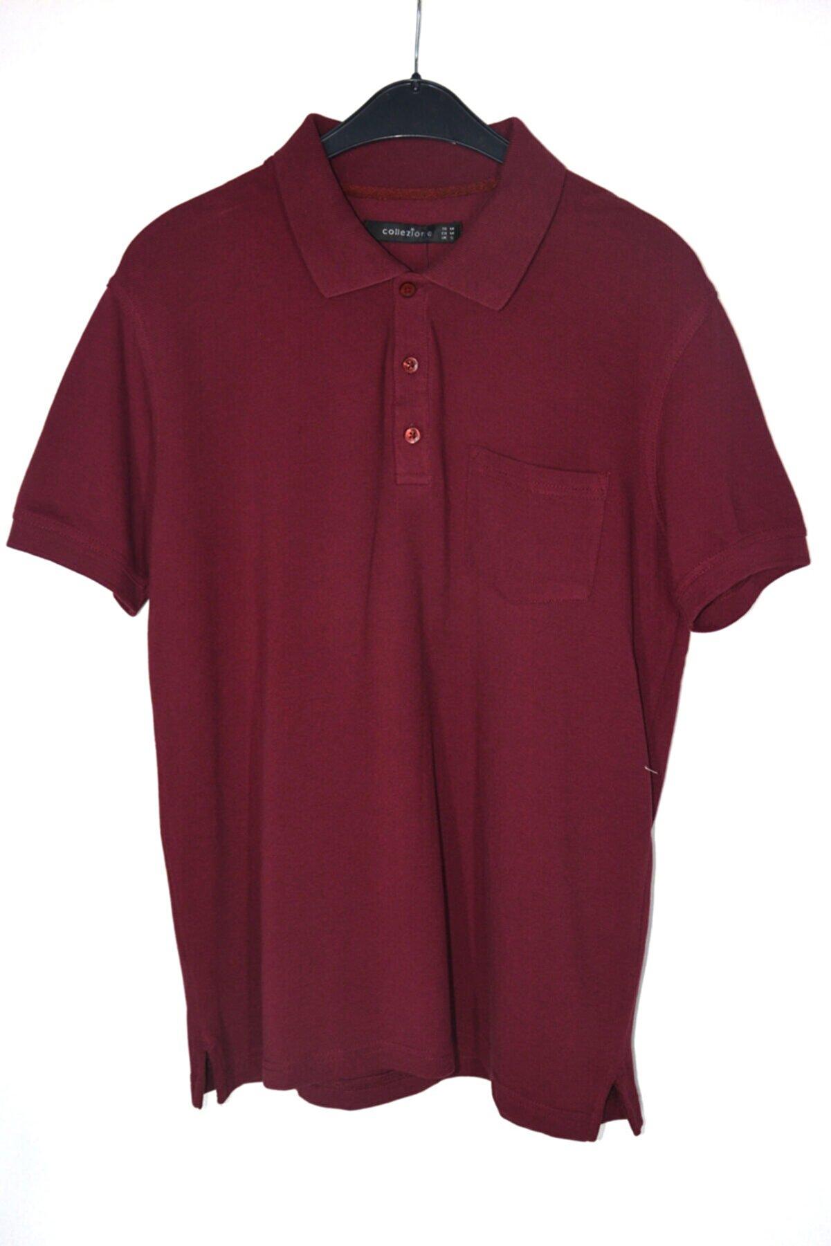 Collezione Erkek Bordo Klasik Polo Yaka Lacoste T-shirt