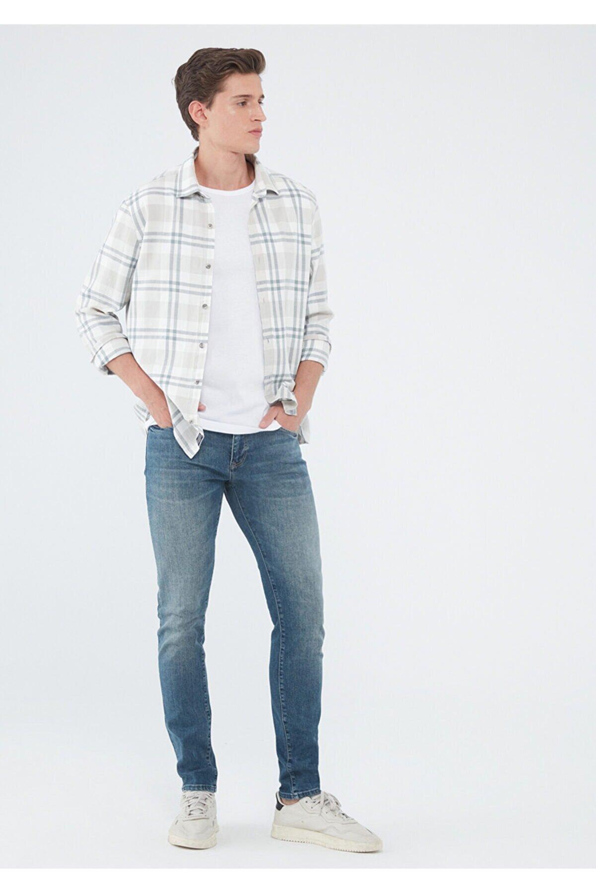 Mavi Erkek James  Black Vintage  Jean Pantolon 0042432121