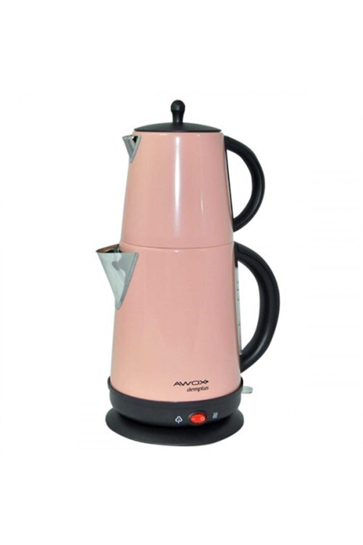 AWOX Demplus Çay Makinesi 1.7l Pembe