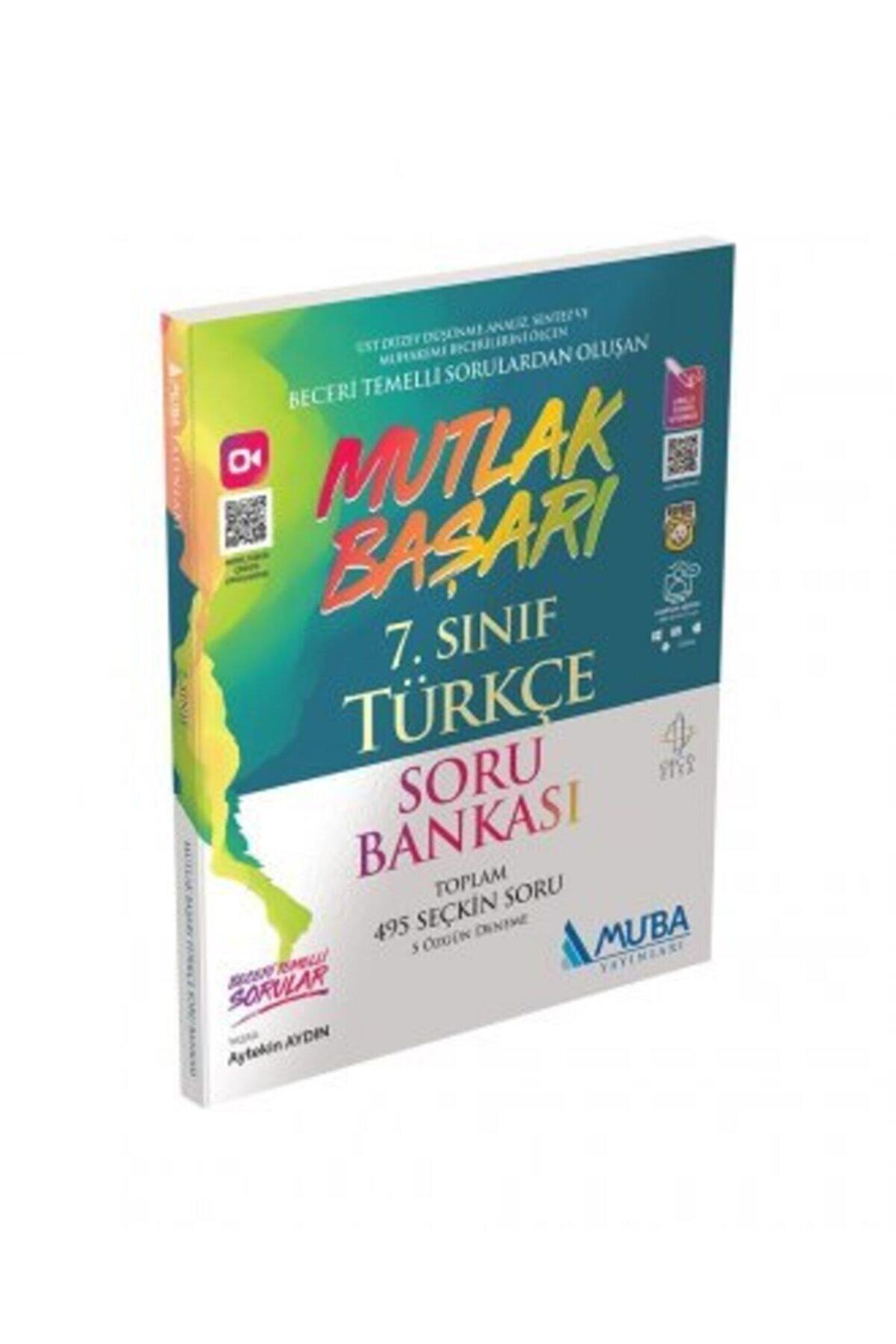Muba Yayınları 7.sınıf Mutlak Başarı Türkçe Soru Bankası