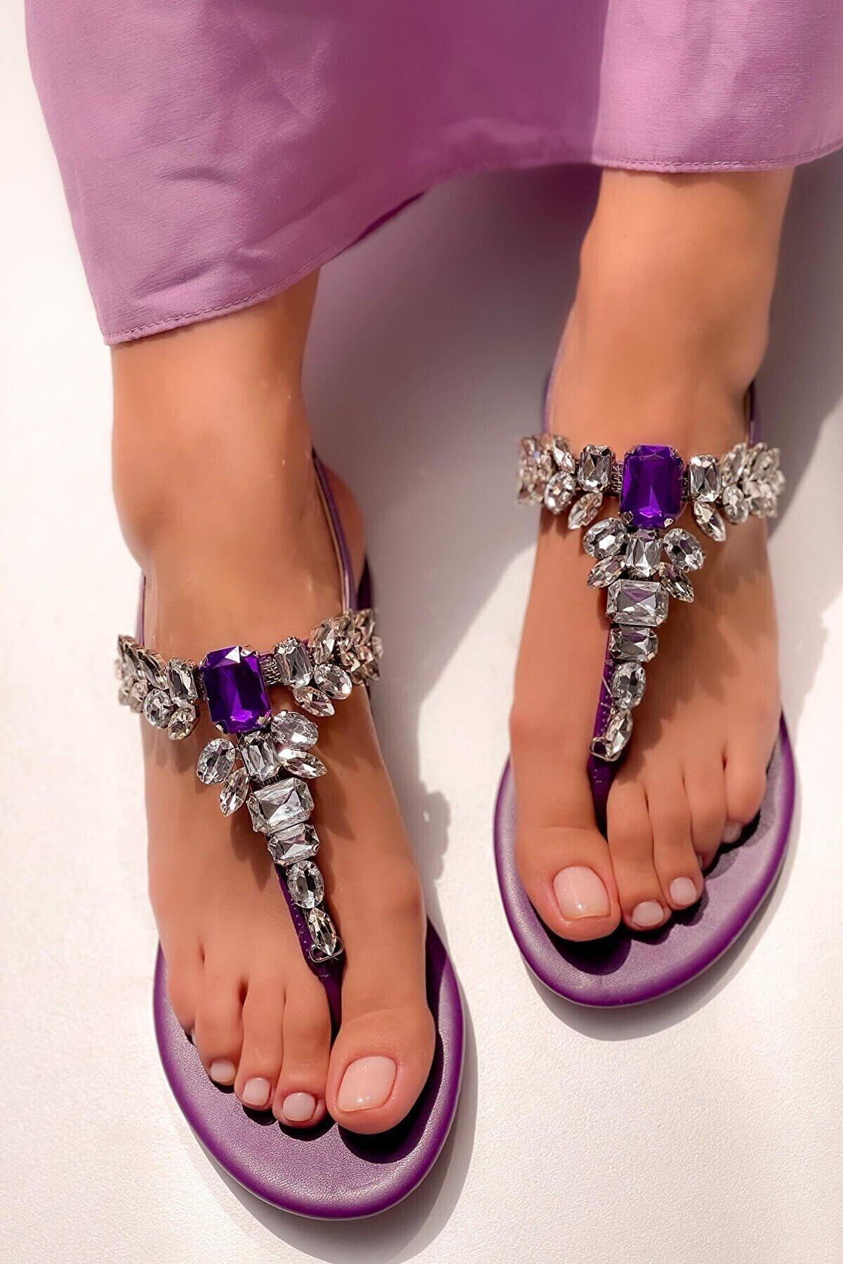 MaiaMarca Taşlı Sandalet