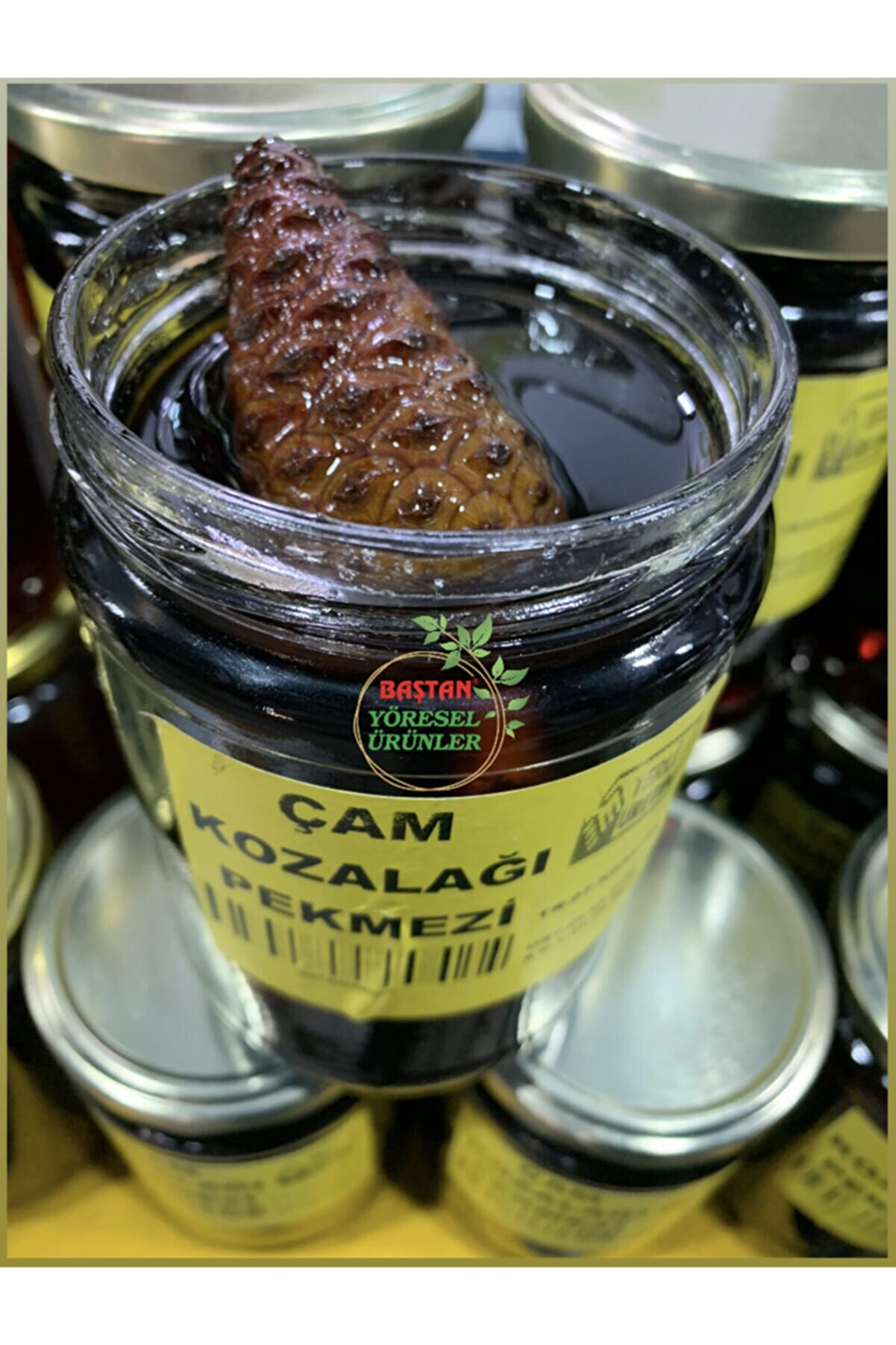 Baştan Yöresel Ürünler Çam Kozalağı Pekmezi 950 gram