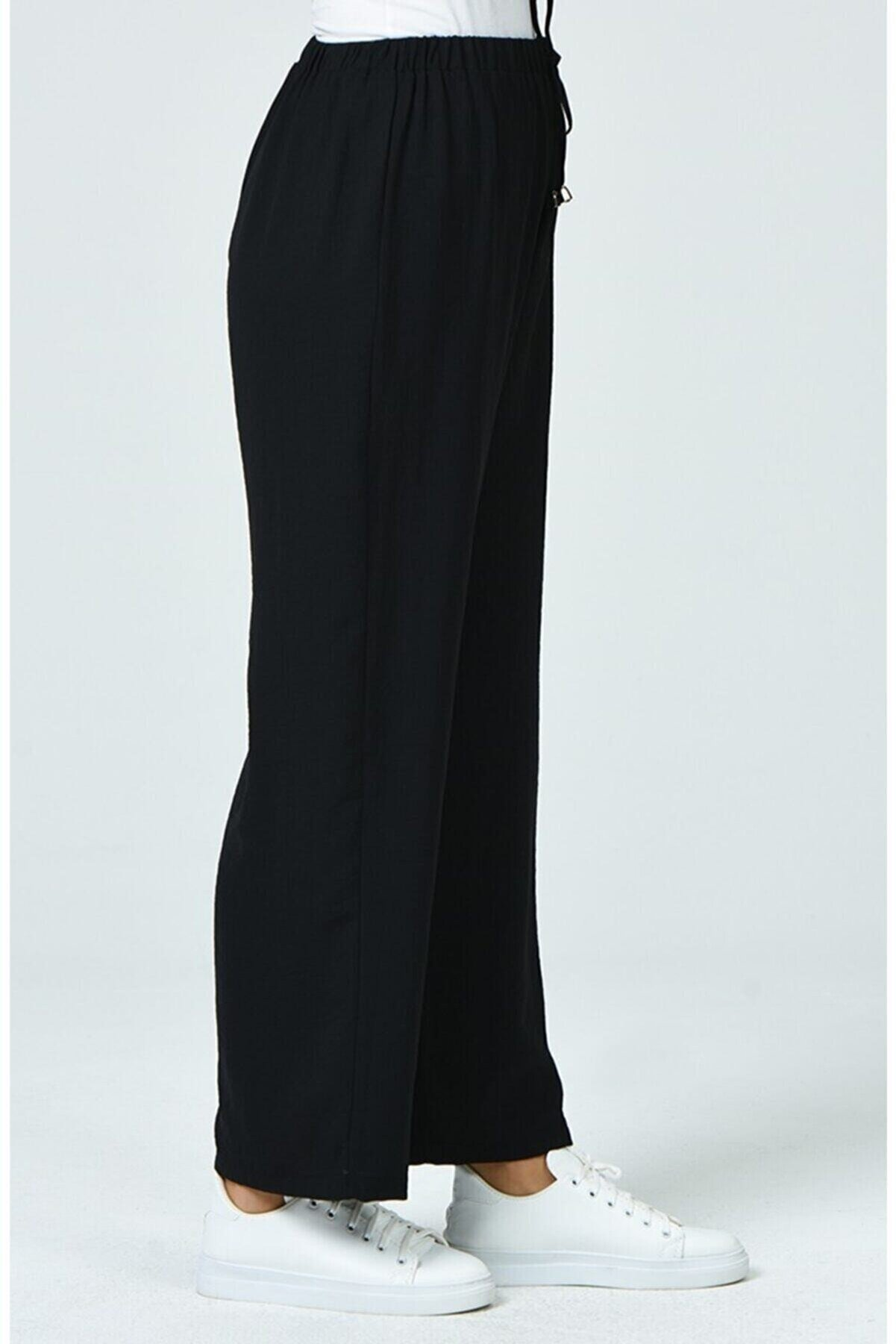 modayseli Airobin Beli Lastikli Pantolon