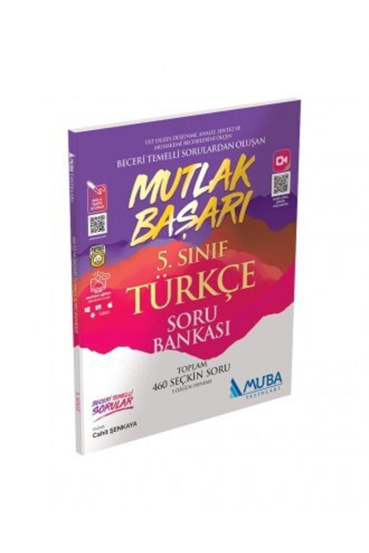 Muba Yayınları Mutlak Başarı 5. Sınıf Türkçe Soru Bankası