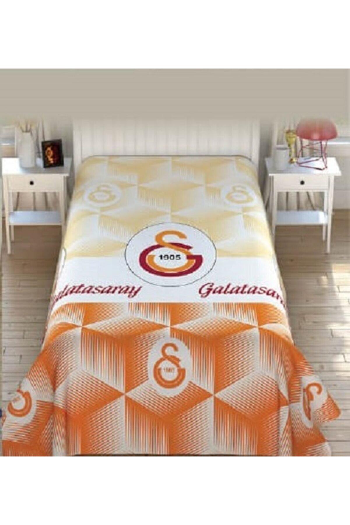 Zorluteks Galatasaray Lisanslı Tek Kişilik Pike (efekt) (150x200 Cm) (yazlık-ince) (tek Parça)