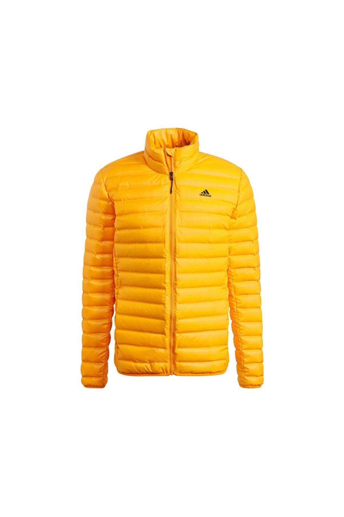adidas Varilite Jacket Erkek Outdoor Montu Gt9219 Sarı