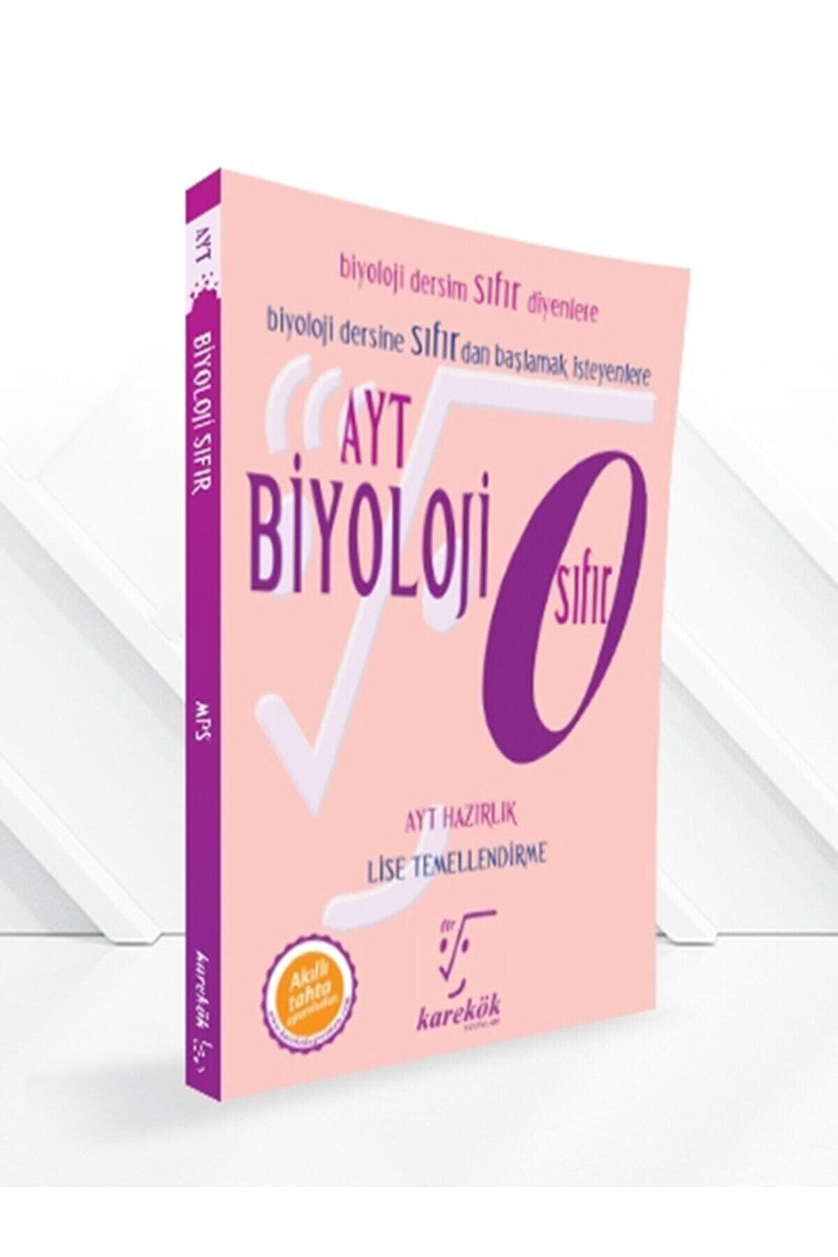Karekök Yayınları Ayt Biyoloji Sıfır Konu Anlatımlı Kitap