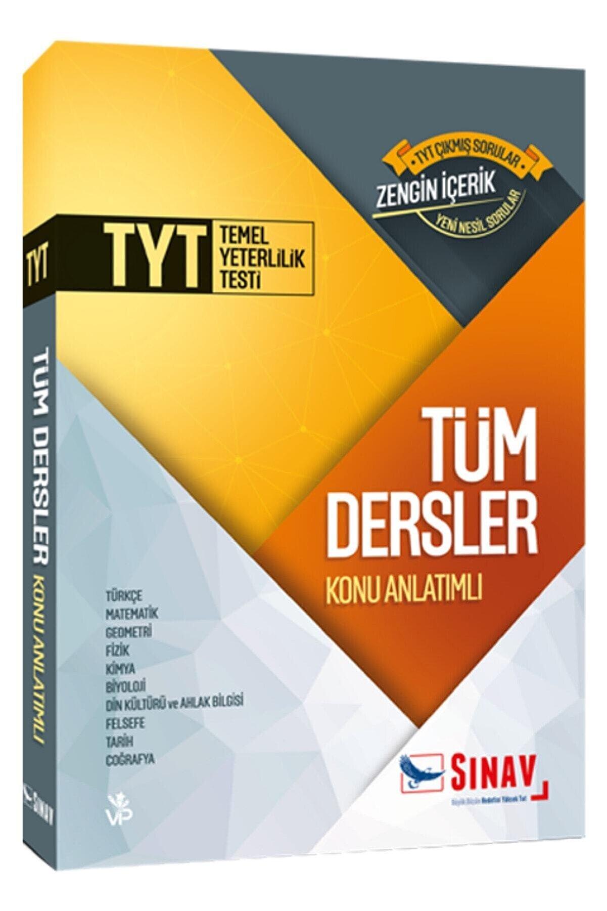 Sınav Yayınları Tyt Tüm Dersler Konu Anlatımlı Tek Kitap (yeni Müfredat)