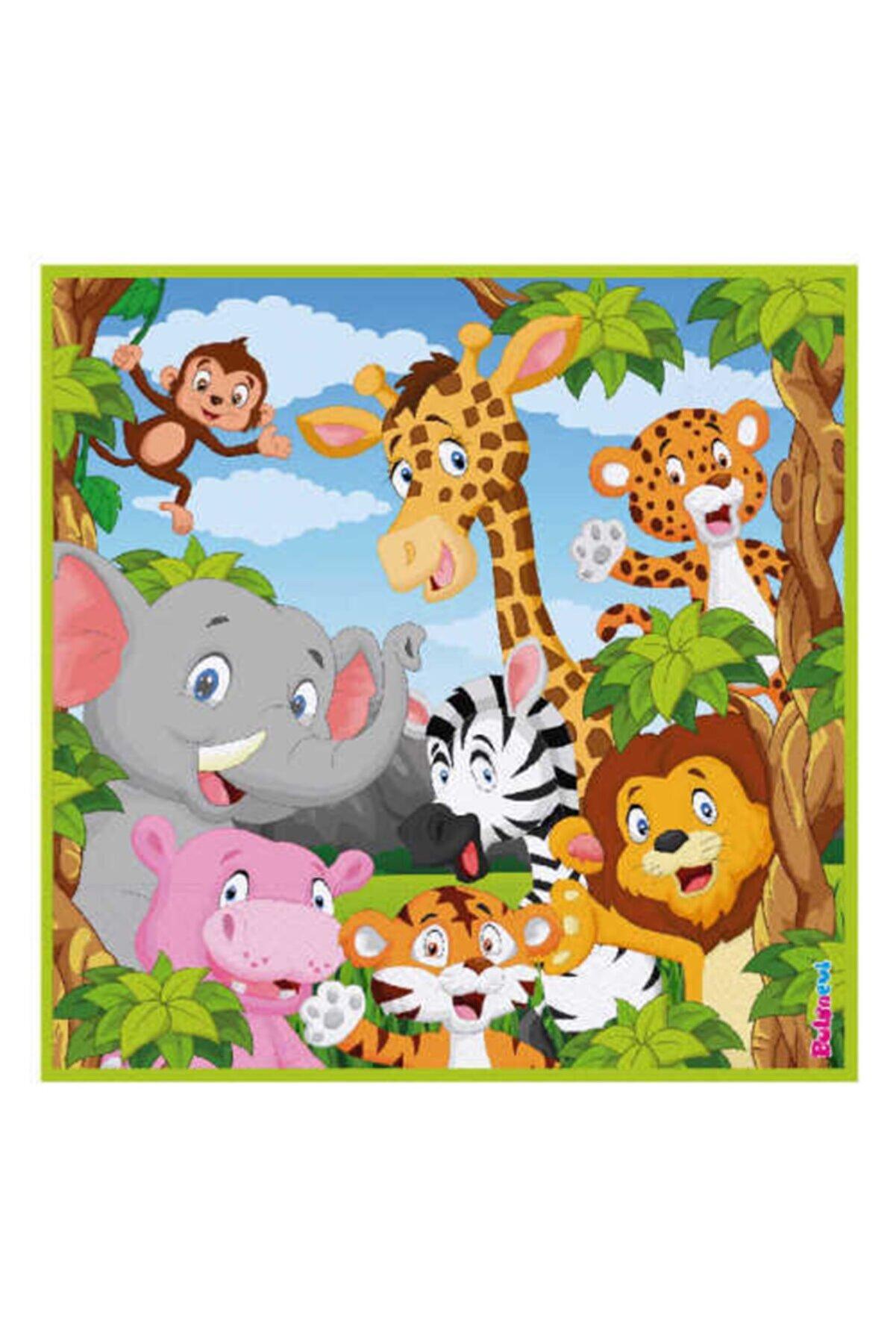 Safari Jungle Clup Kağıt Peçete 33x33 Cm 16'lı