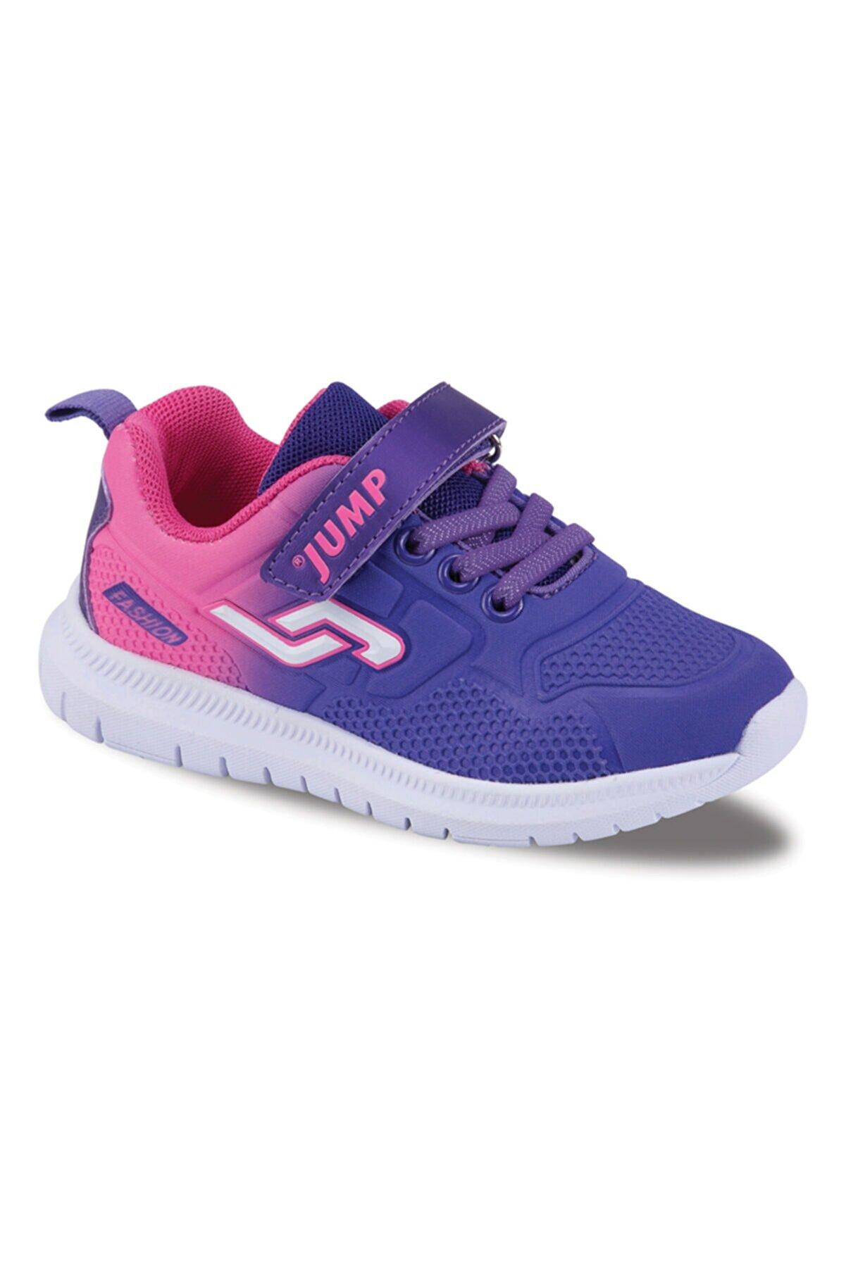 Jump Çocuk Mor Spor Ayakkabı 20008