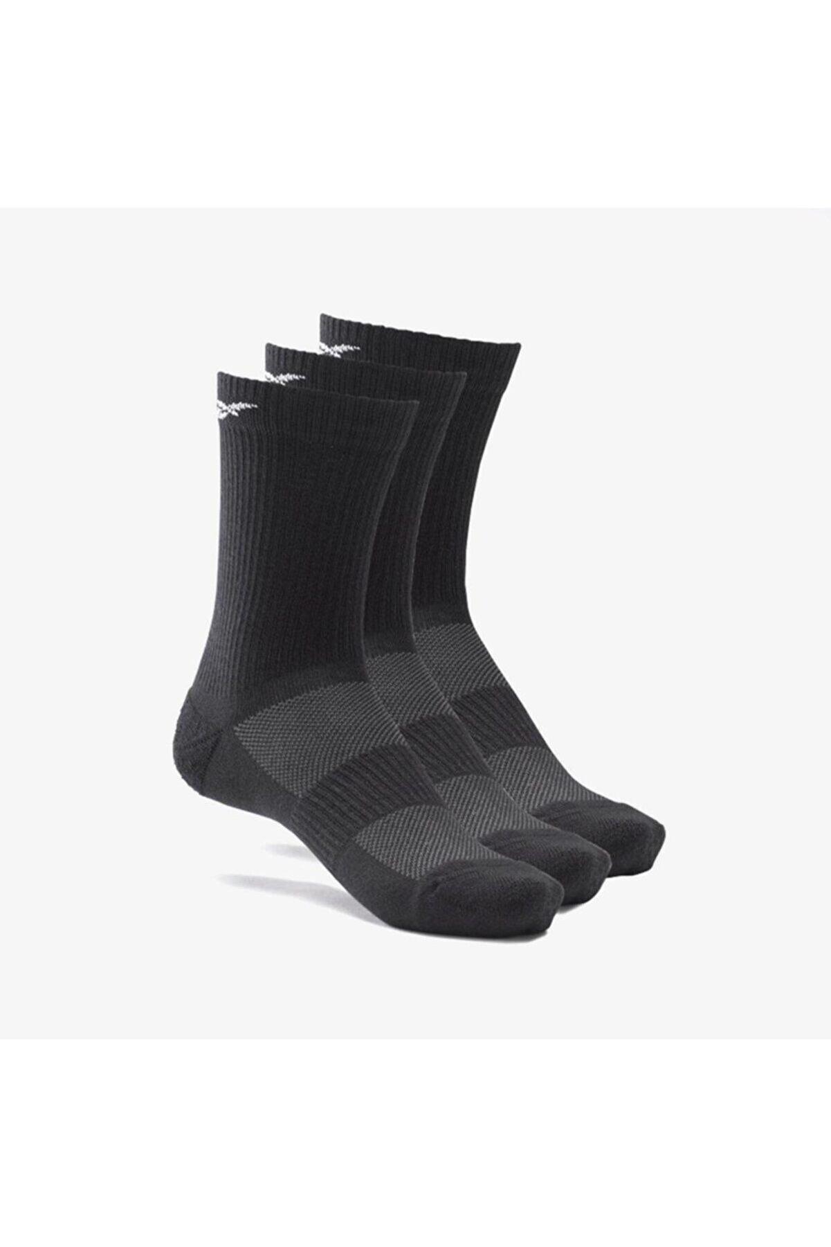 Reebok Gh0415 Siyah 3 Çift Uzun Yastıklamalı Çorap