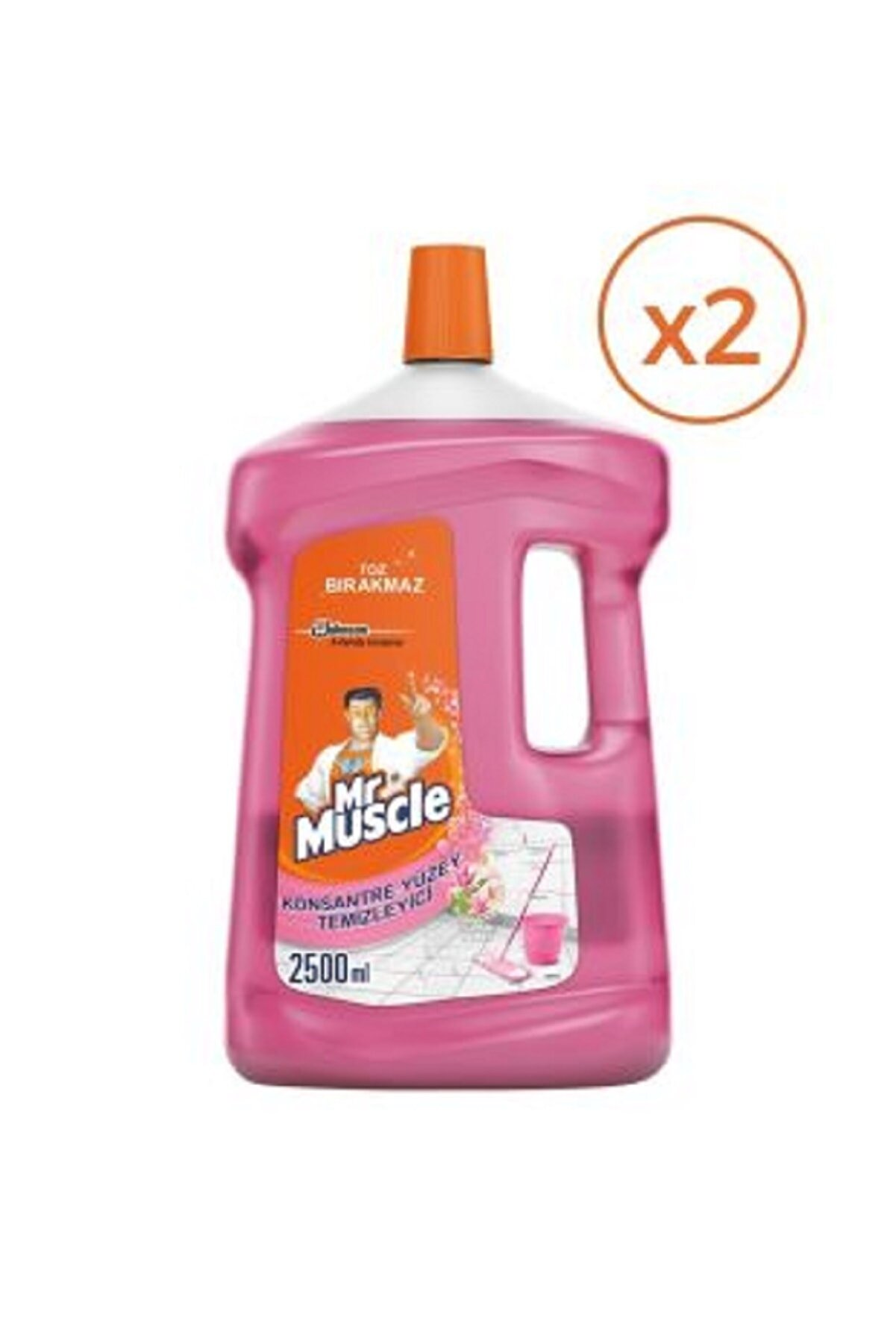 Mr. Muscle Konsantre Yüzey Temizleyici Floral Buket - 2500 ml x 2'li