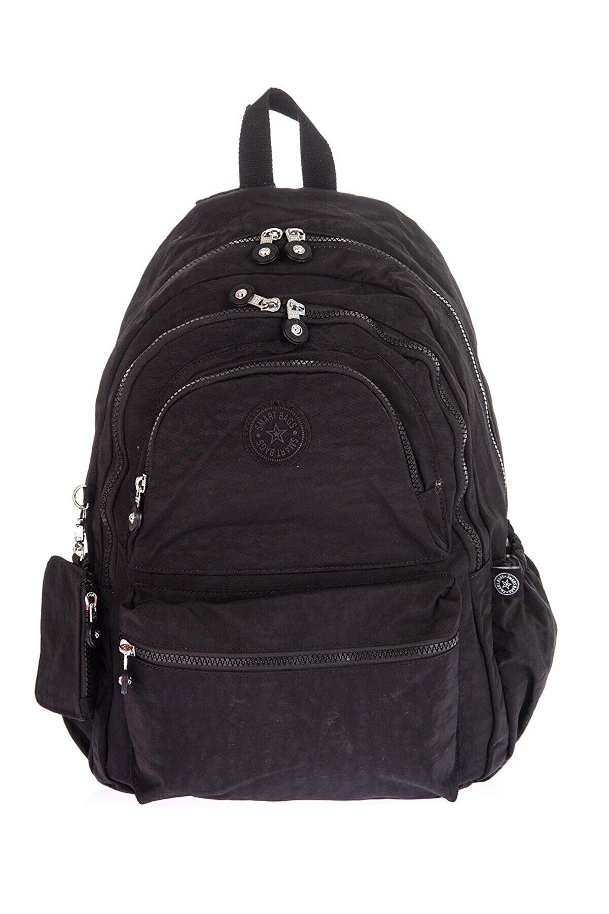 Smart Bags Kadın Siyah Sırt Çantası