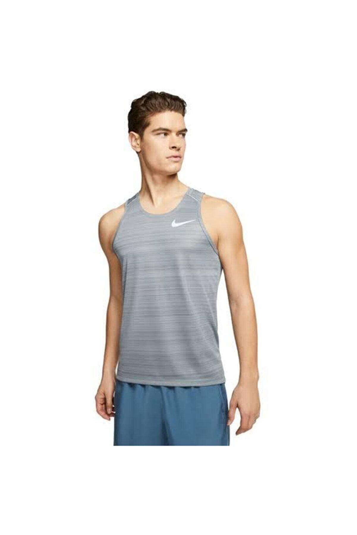 Nike Dri-fit Breathe Miler Men's Running Vest Tank Top