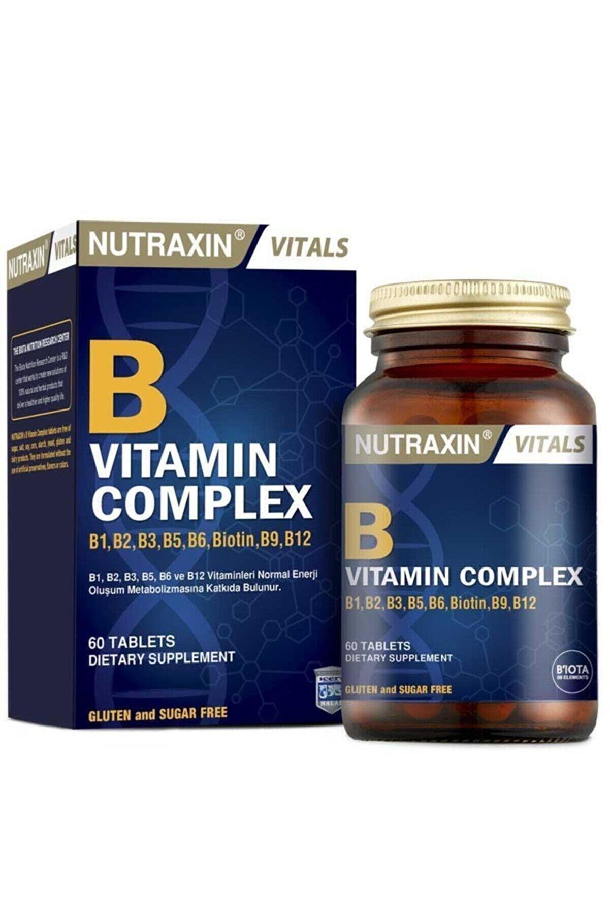 Nutraxin B Complex Vitamin 60 Tablet