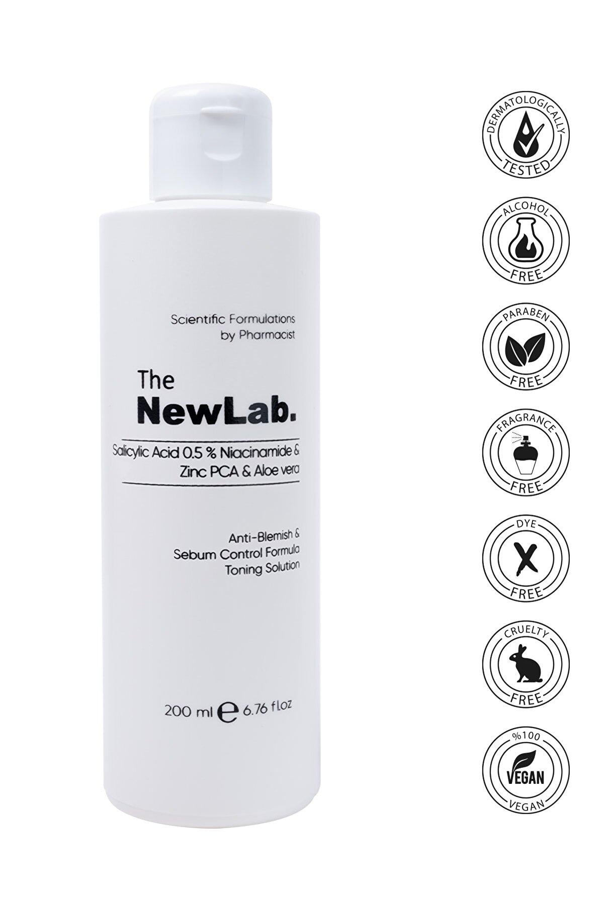 The NewLab Akne Karşıtı & Sebum Kontrol Arındırıcı Tonik
