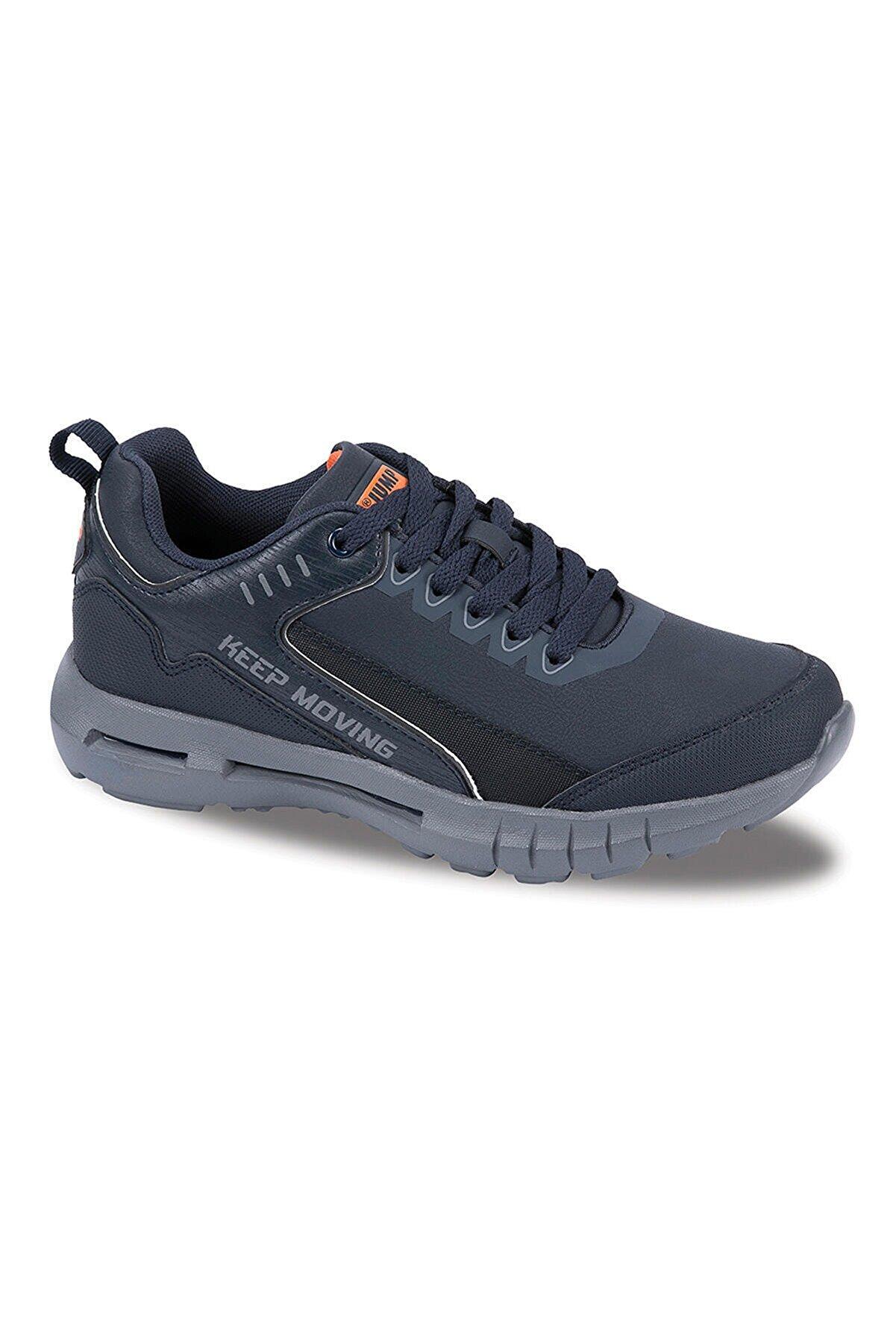 Jump 25521 Kadın Erkek Spor Ayakkabı - Lacivert - 37
