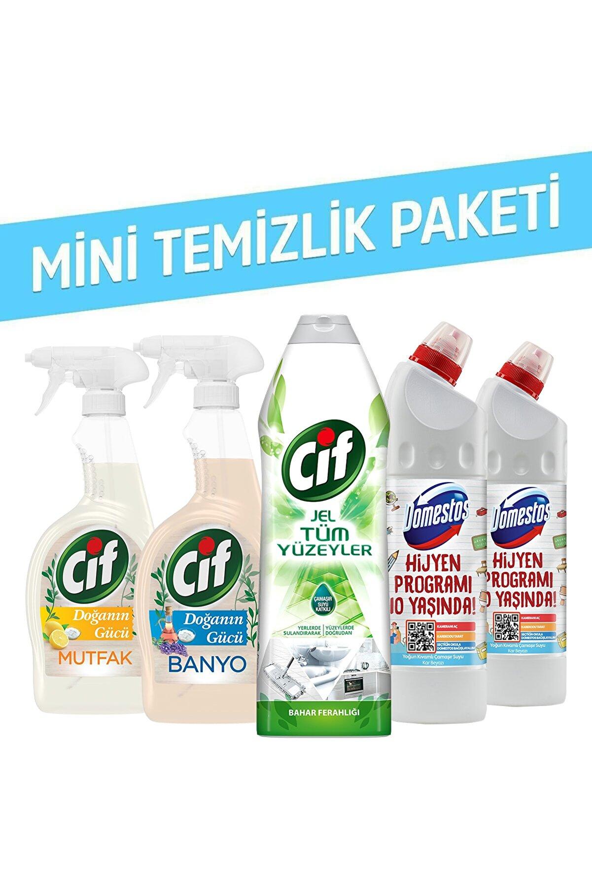 Domestos Cif + Domestos Temizlik Paketi