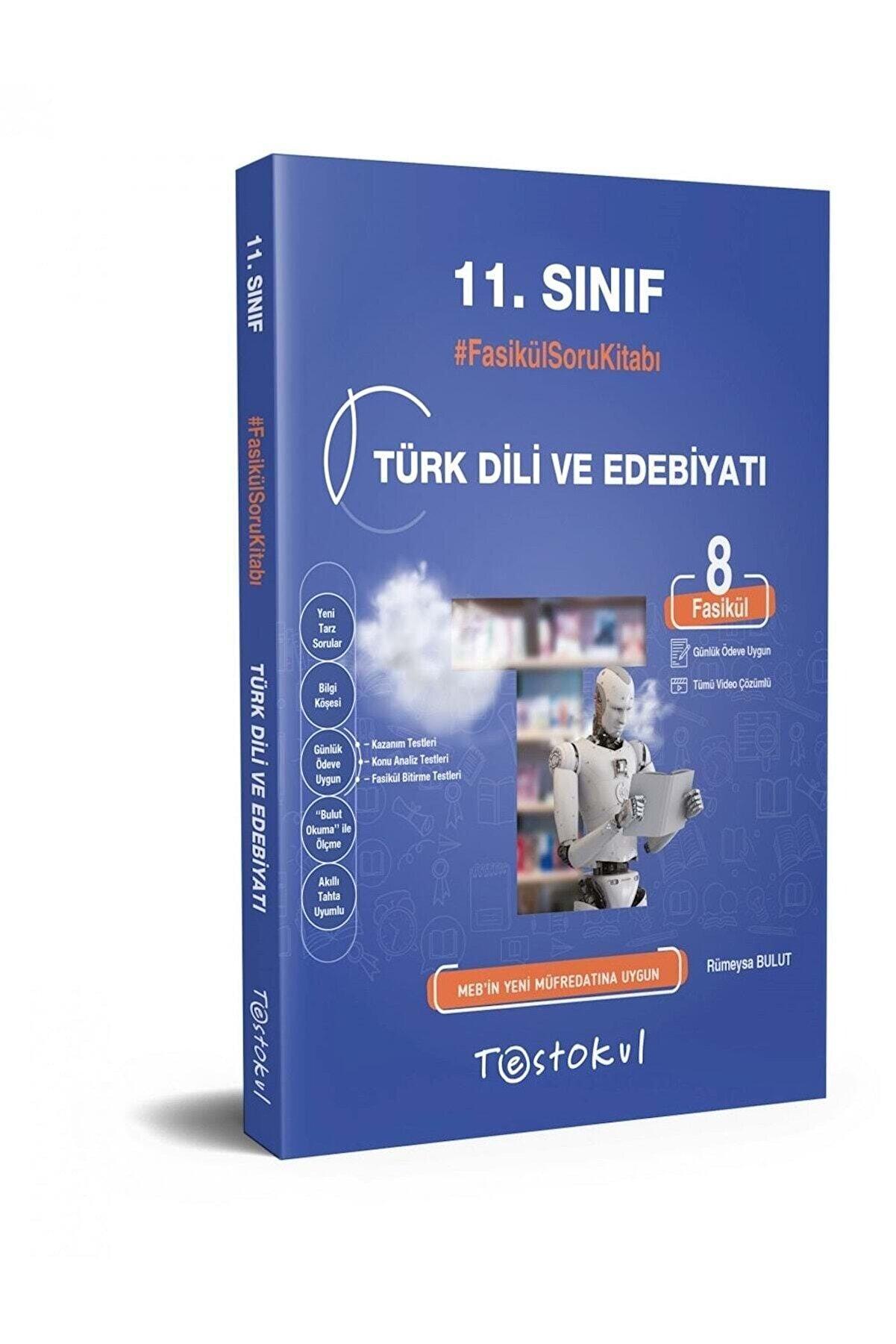Test Okul Yayınları Test Okul 11.sınıf Türk Dili Ve Edebiyatı Fasikül Soru Kitabı