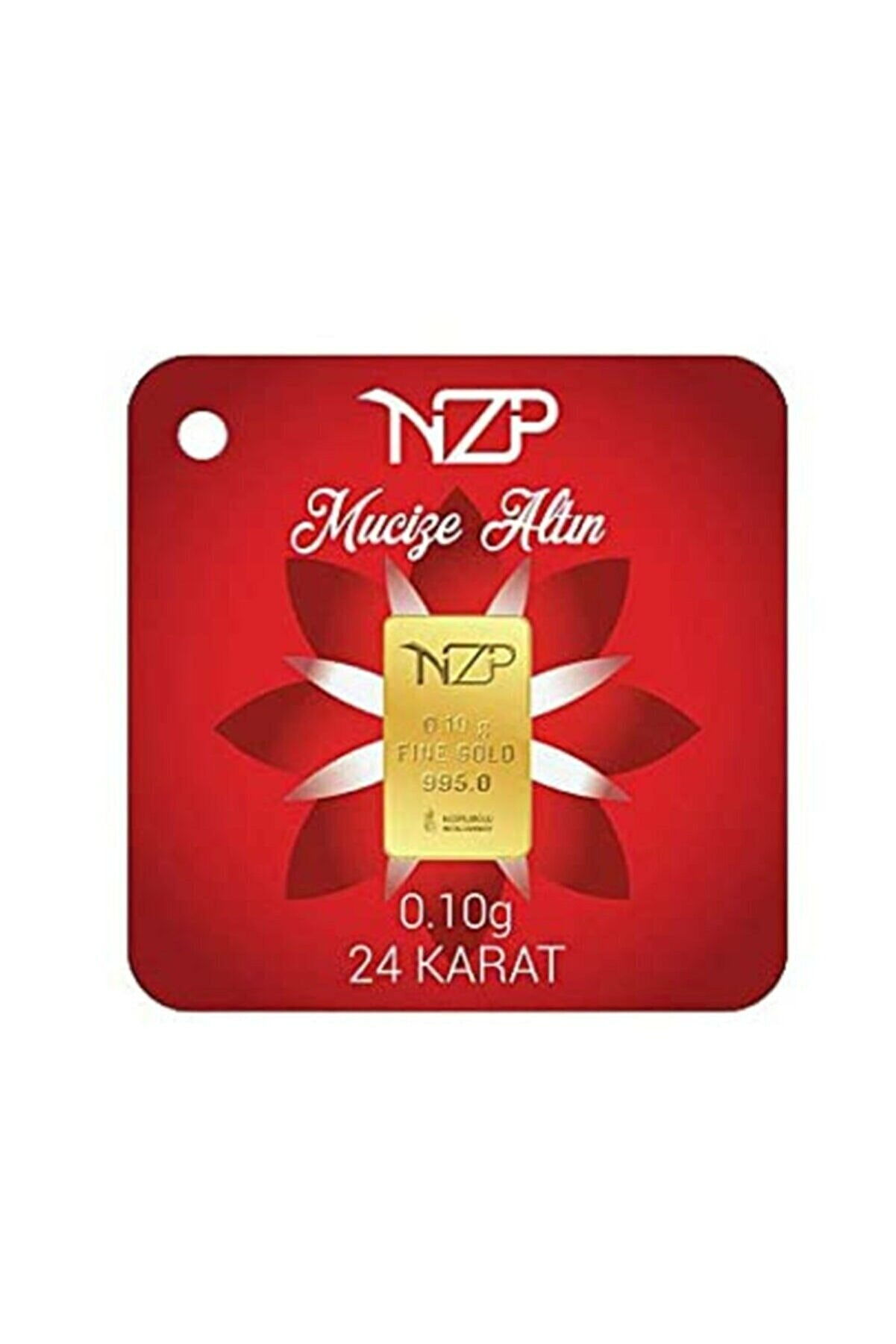 NZP Gold 0.10 Gram 24 Ayar Külçe Altın