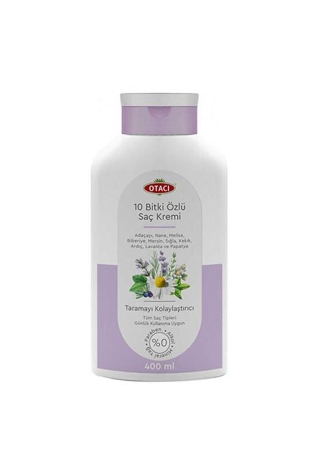 Otacı Saç Kremi 400 ml 10 Bitki