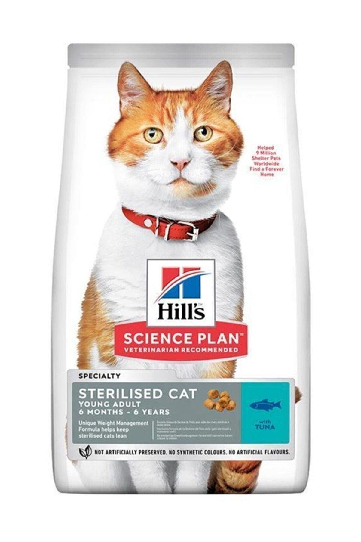 Hills Science Plan Sterilised Young Tuna Balıklı 3 Kg Kısırlaştırılmılş Kuru Kedi Maması