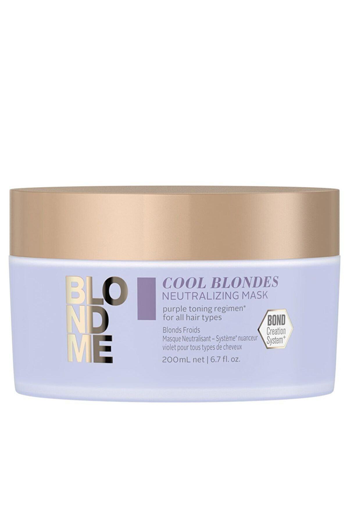 BLONDME Cool Blondes Neutralizing Saç Maskesi 200ml