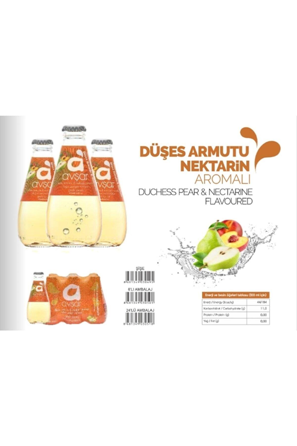 Avşar Düşes Armudu & Nektarin 24*200ml