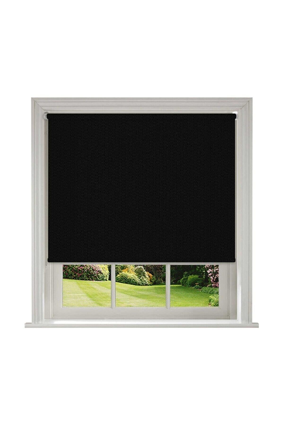 Platin Mat Polyester Siyah