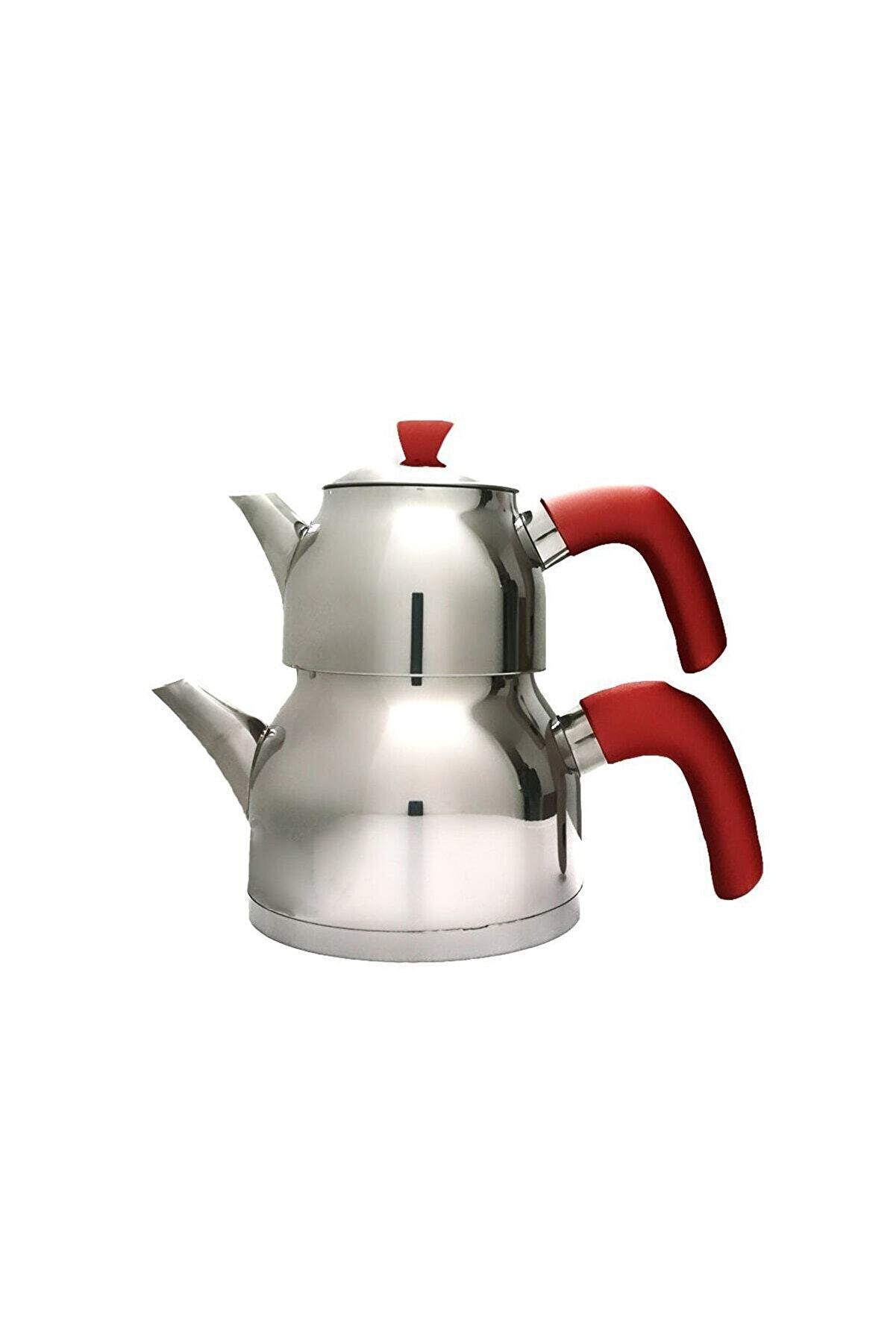 Papatyam Midi Boy Çaydanlık Kırmızı