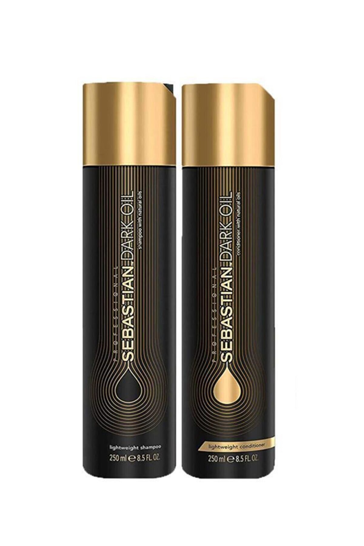 Sebastian Dark Oil Lightweight Şampuan 250 Ml + Saç Kremi 250 Ml