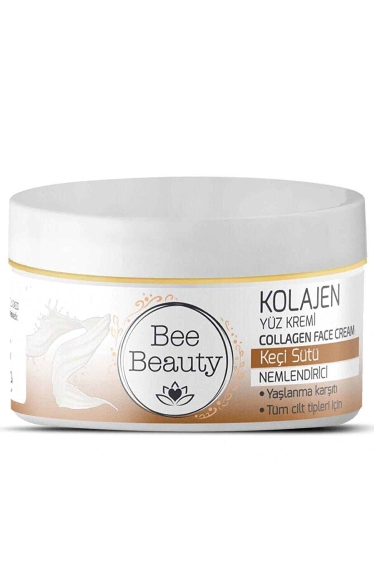 Bee Beauty Keçi Sütü Kolajen Yüz Kremi 50 ml