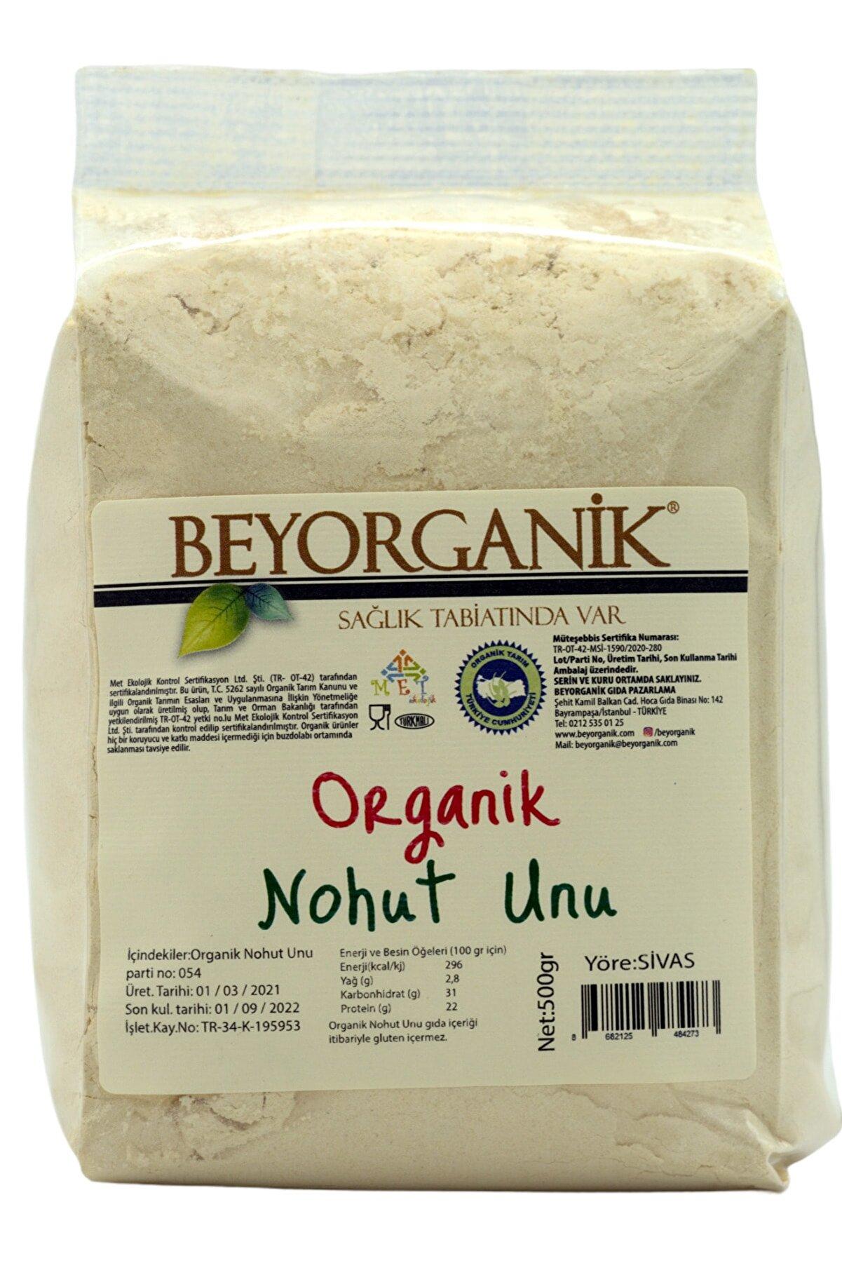 BEYORGANİK Organik Nohut Unu 500 gr