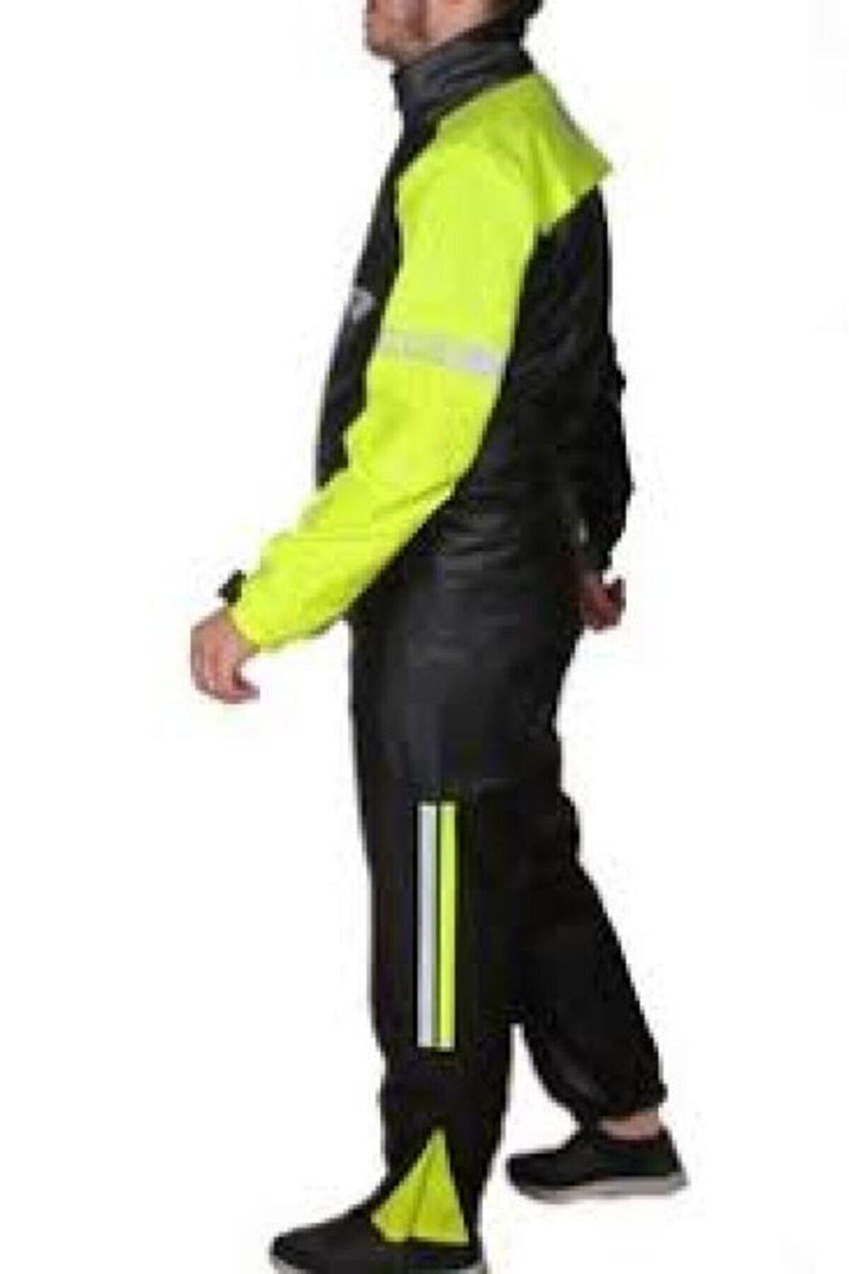 Tex Forte Gt Pvc Kurye Motorsiklet Reflektörlü Yağmurluk Takımı