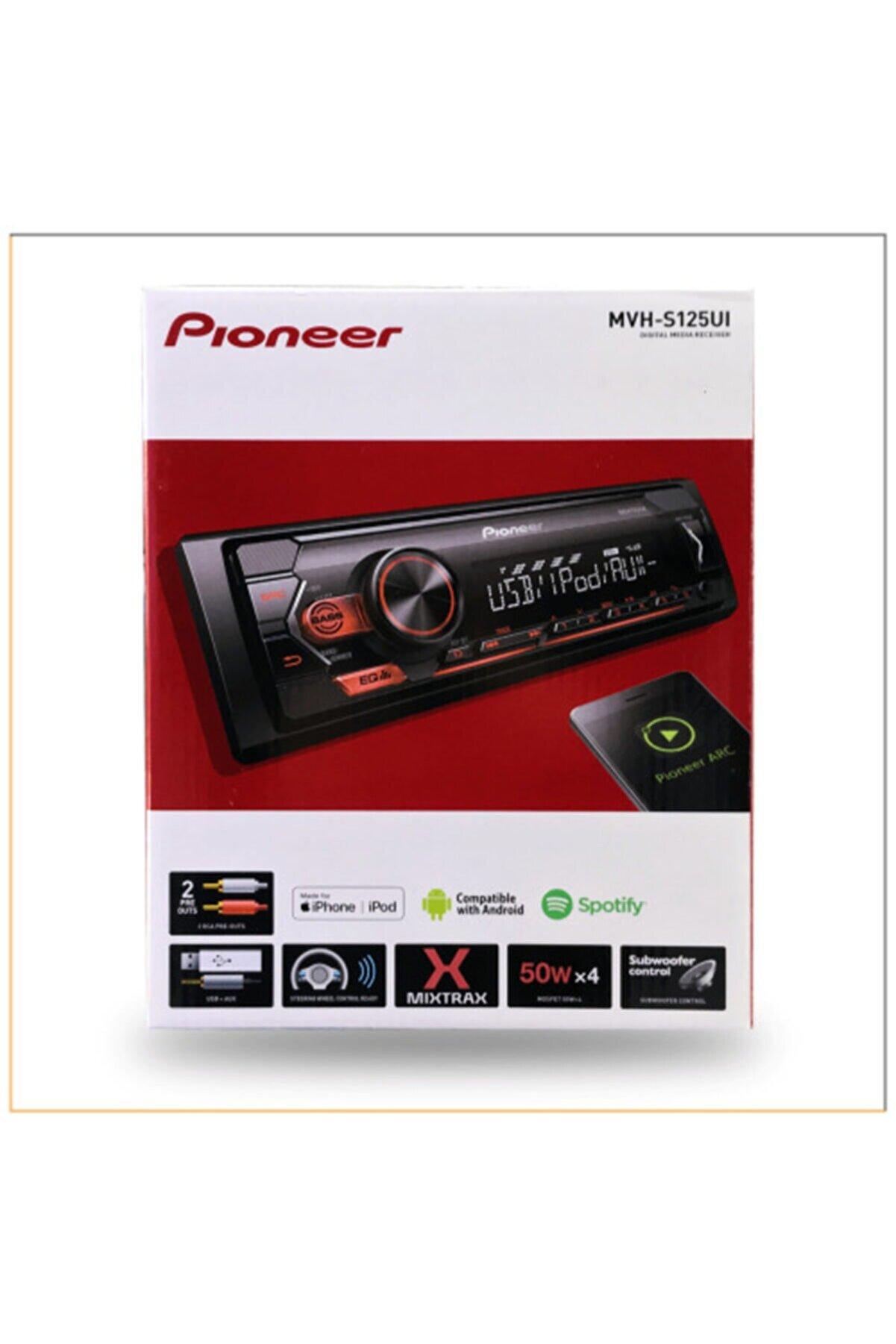 Pioneer Mvh-s125uı Oto Teyp Usb Radio Aux Girişli 2020 Model