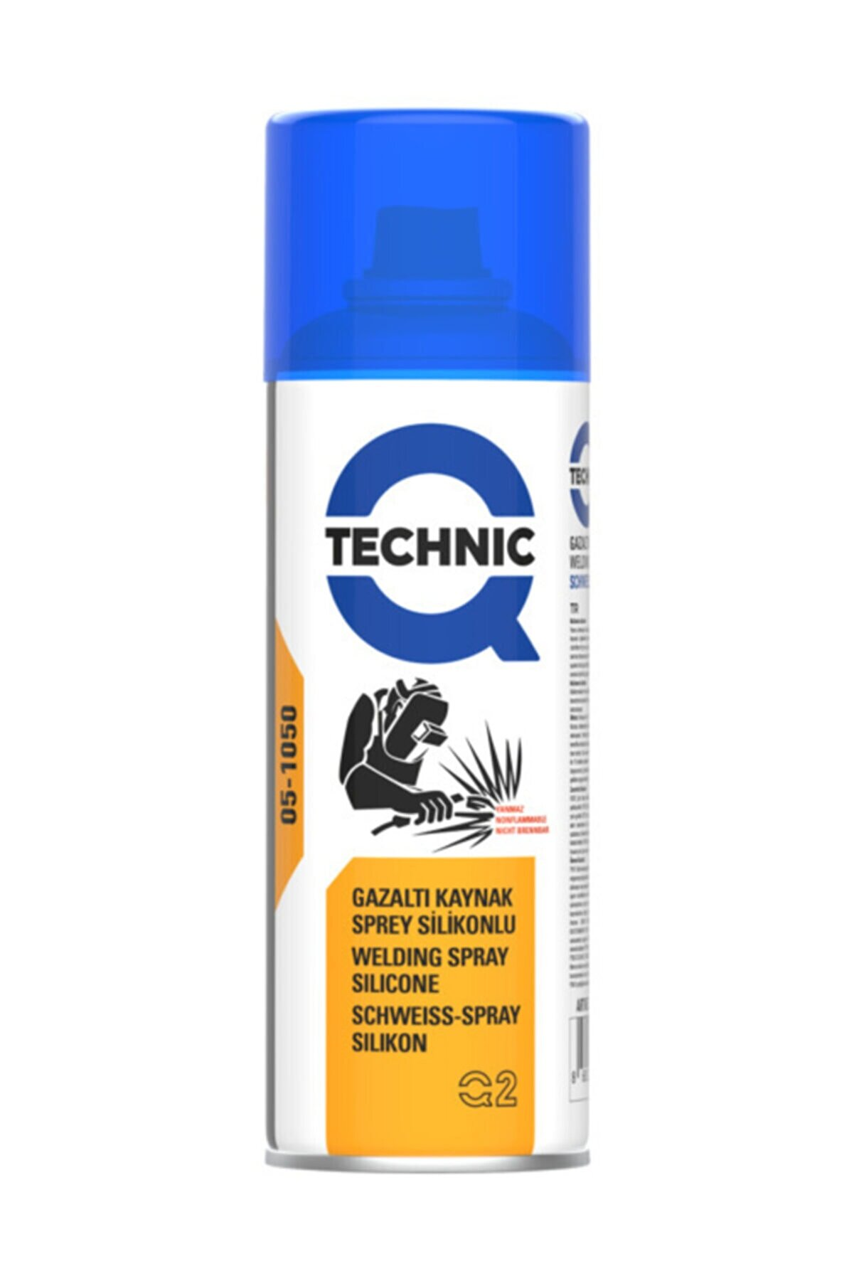 Qtechnic Gazaltı Kaynak Sprey Silikonlu 400 ml