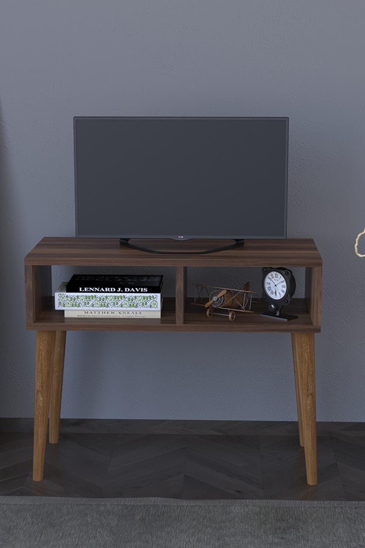 Remaks Retro Tv Sehpası Ünitesi - Ceviz
