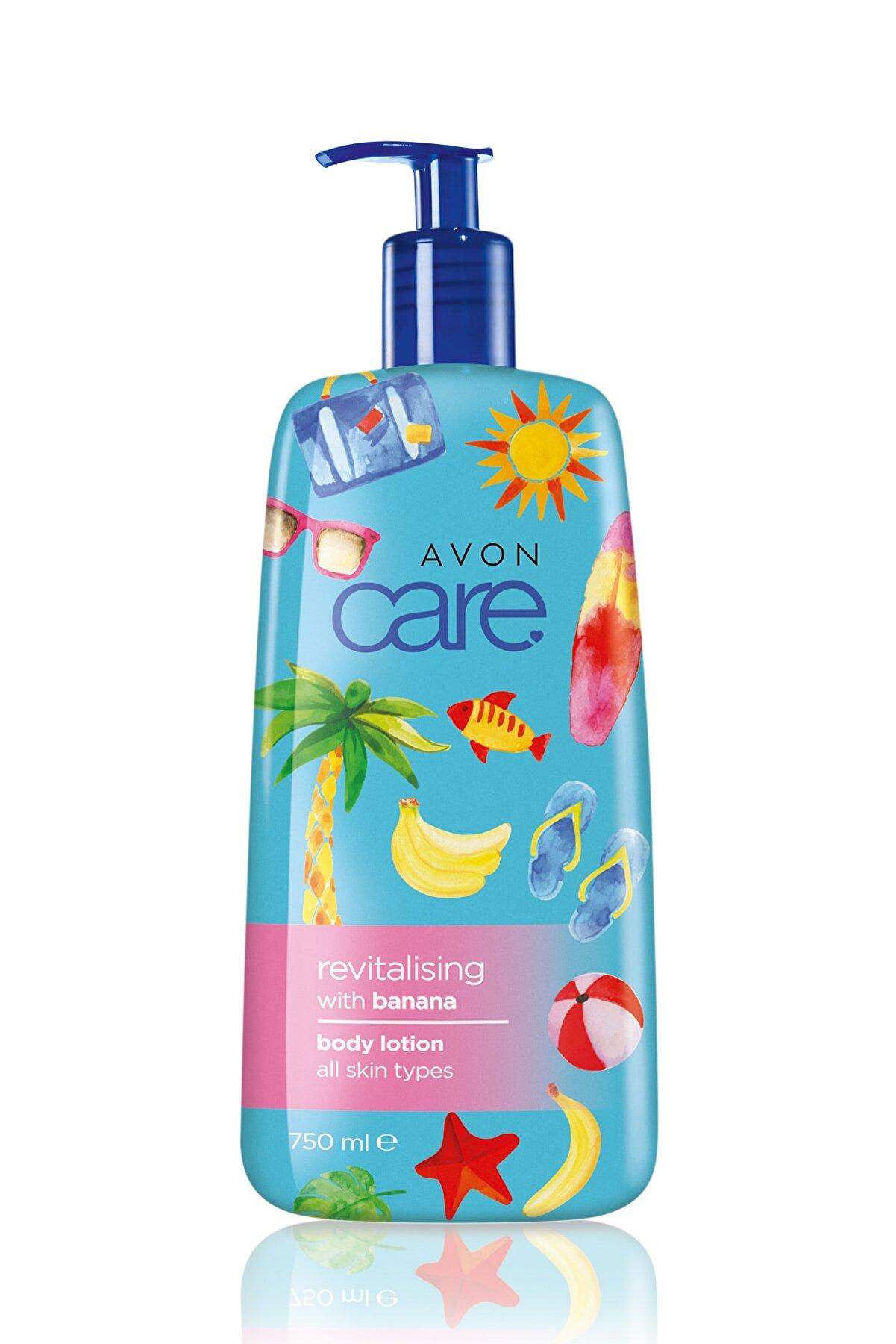 Avon Care Muz Özleri İçeren Vücut Losyonu - 750ml