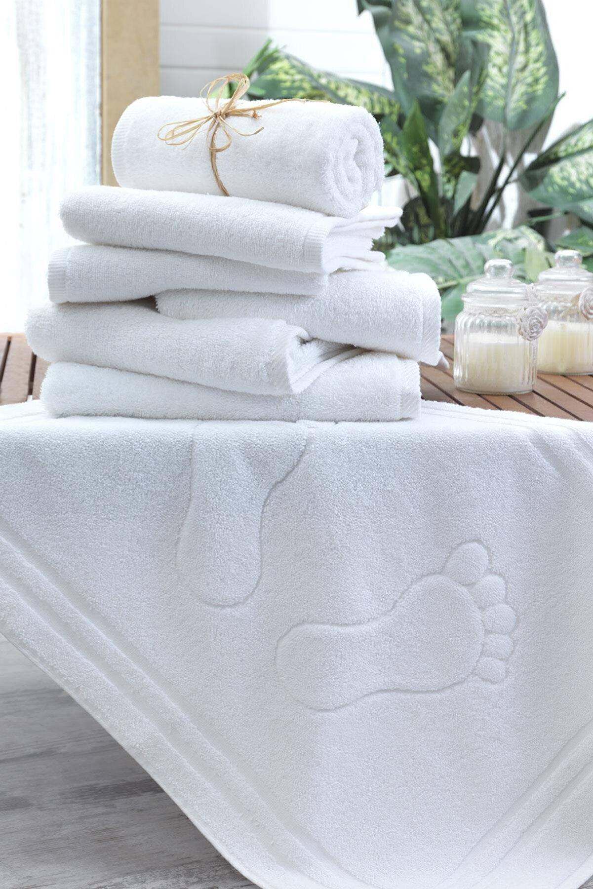 Lux Home Banyo Ayak Havlusu Paspası