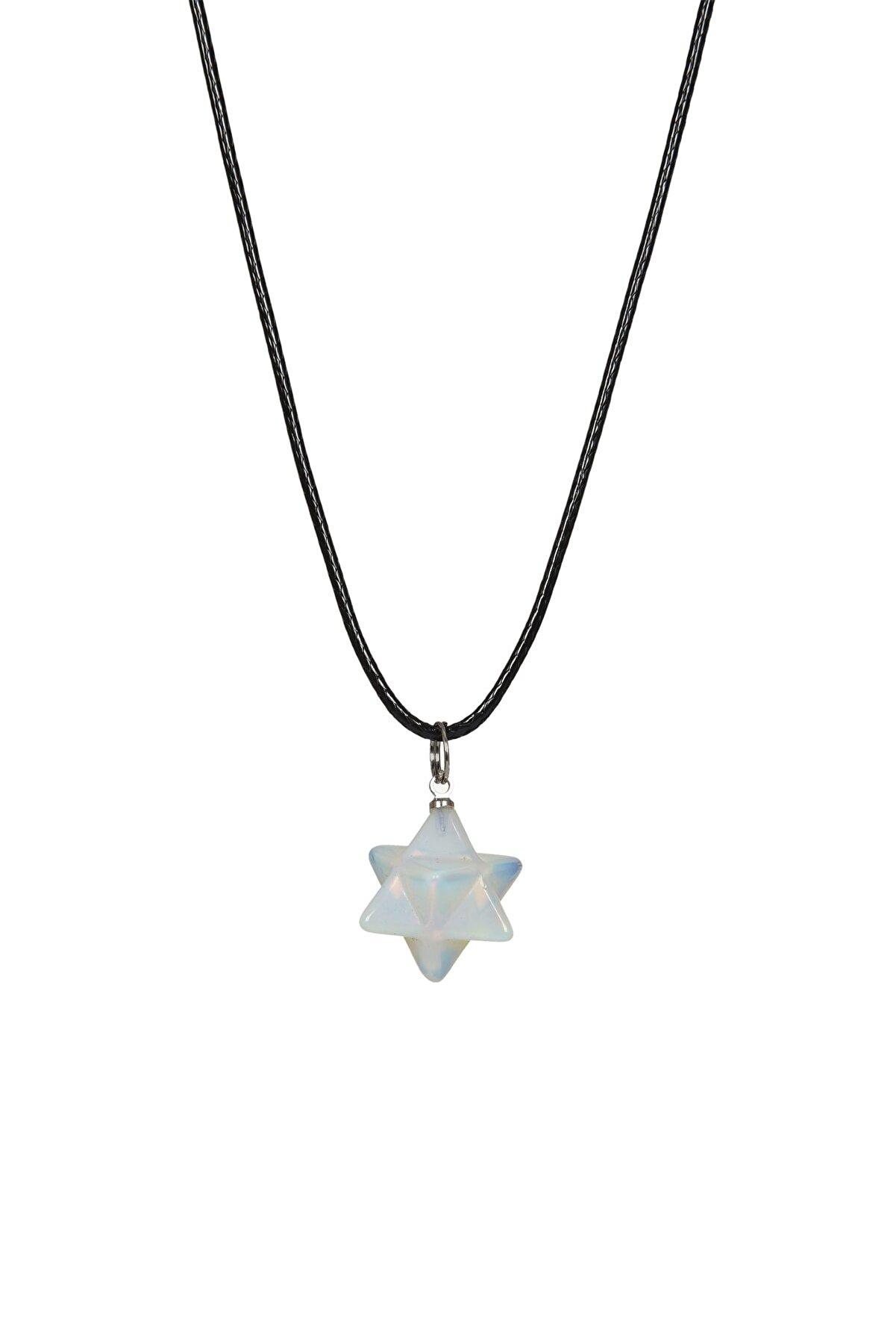 bizdensiniz Opal Taşı Yıldız Kolye Bs221589