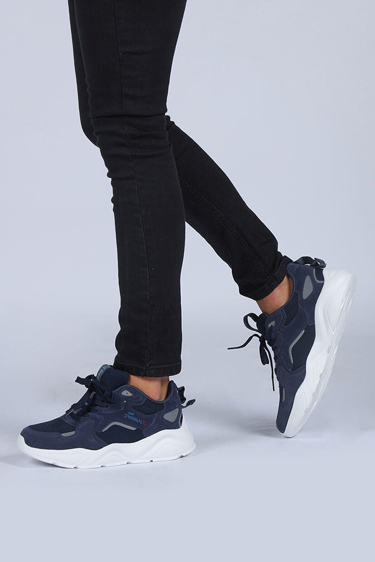 Jump Erkek Lacivert Günlük Spor Ayakkabı 24687