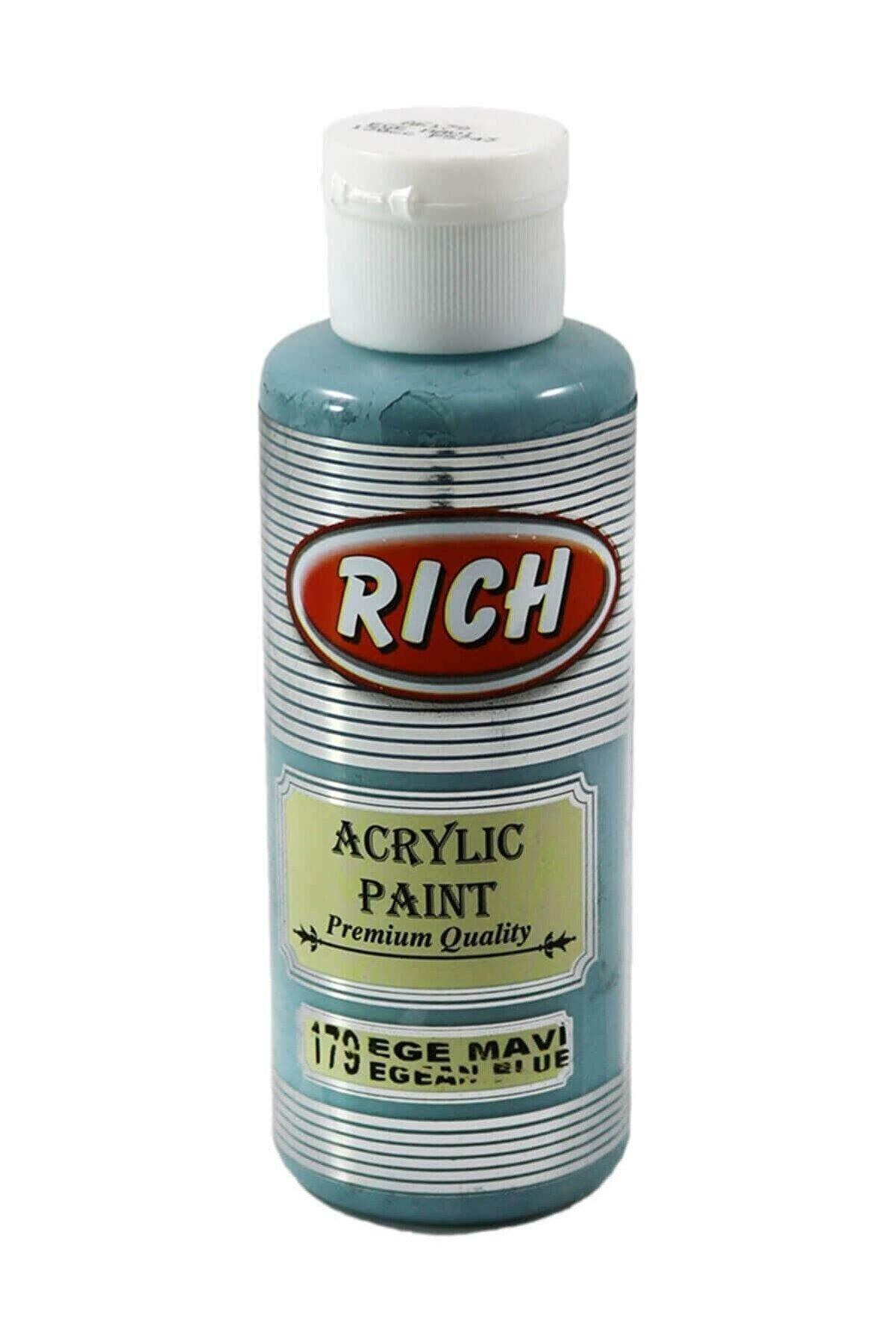 Rich Akrilik Boya No:179 Ege Mavi 130 ml