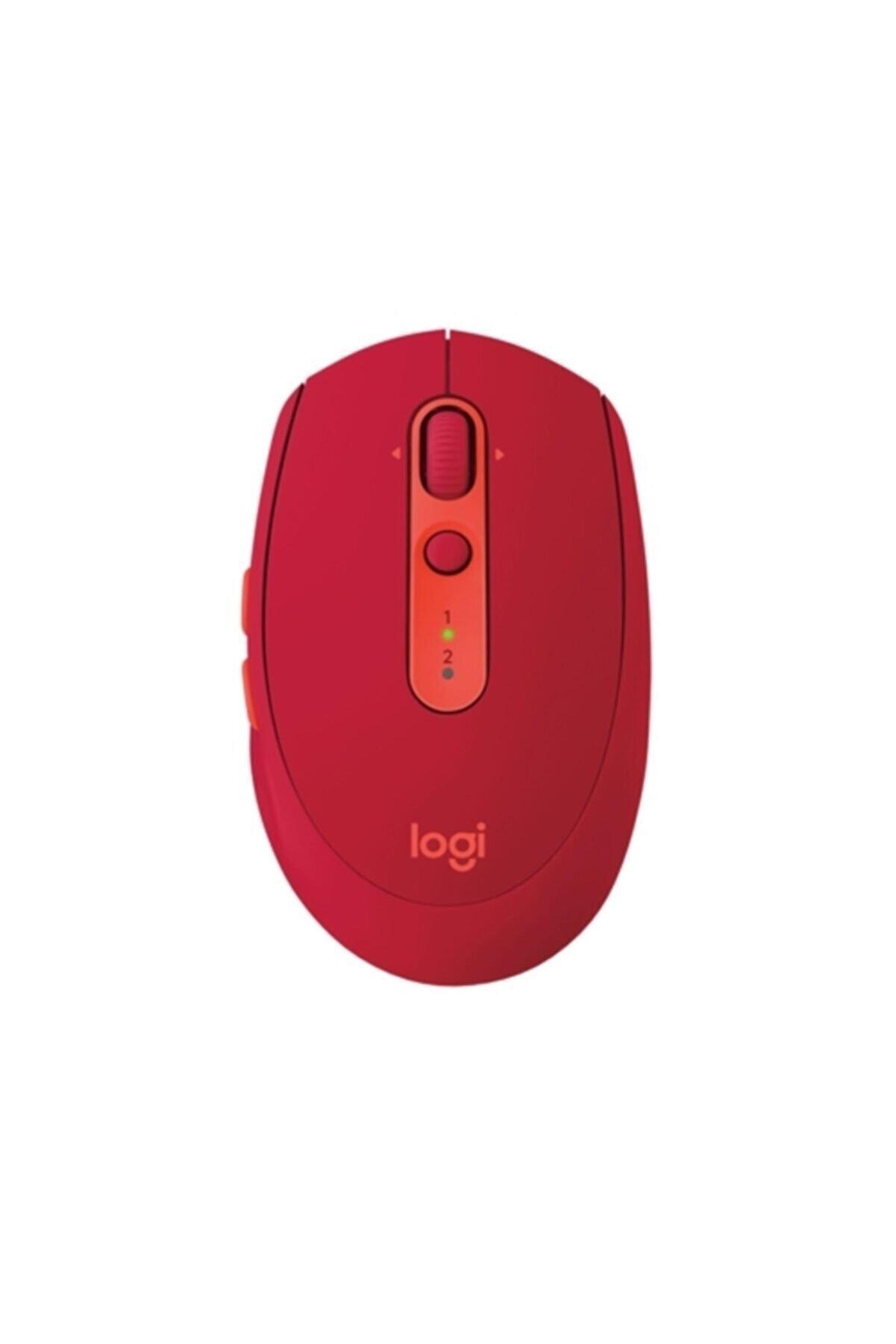 logitech 910-005199 Silent Red Kablosuz Mouse