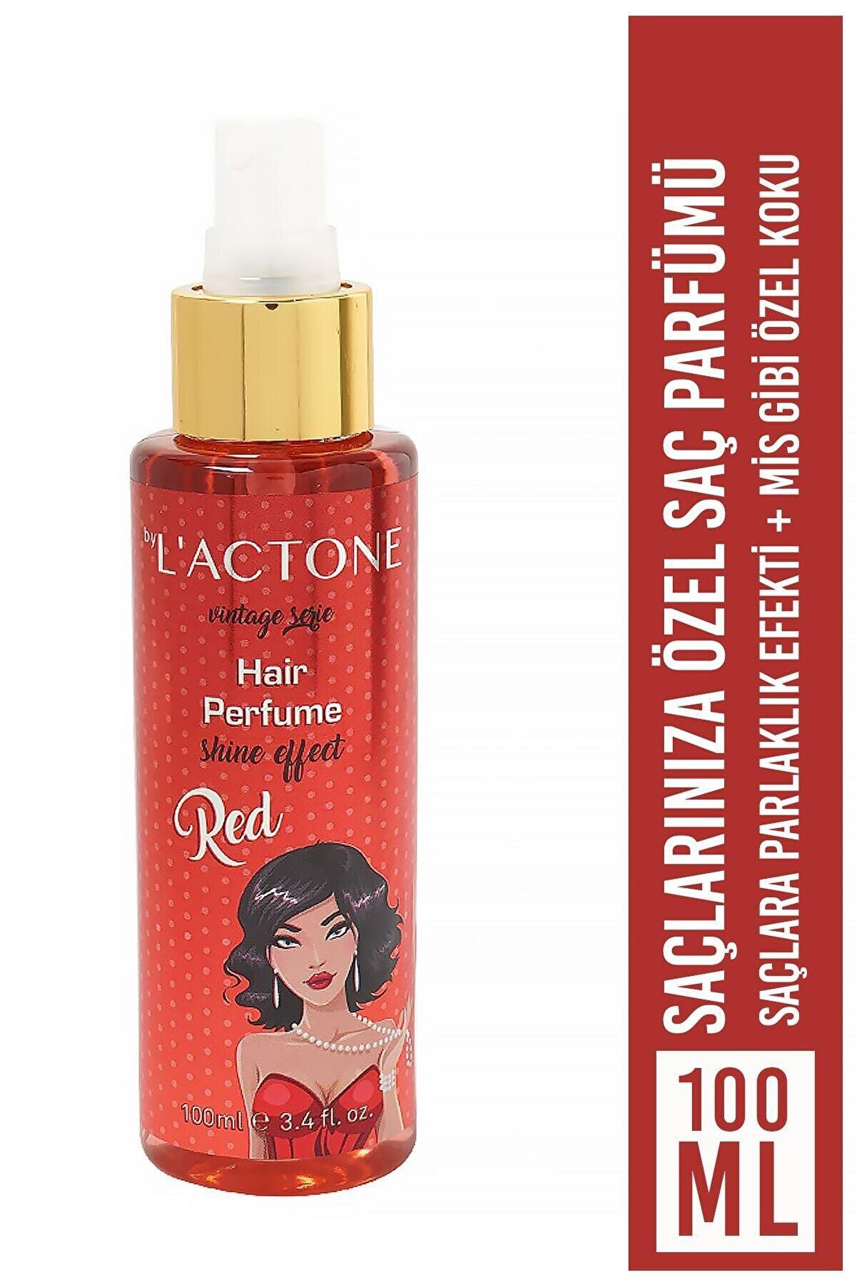 L'ACTONE Kadın Saç Parfümü Red - Hair Perfume 100 ml