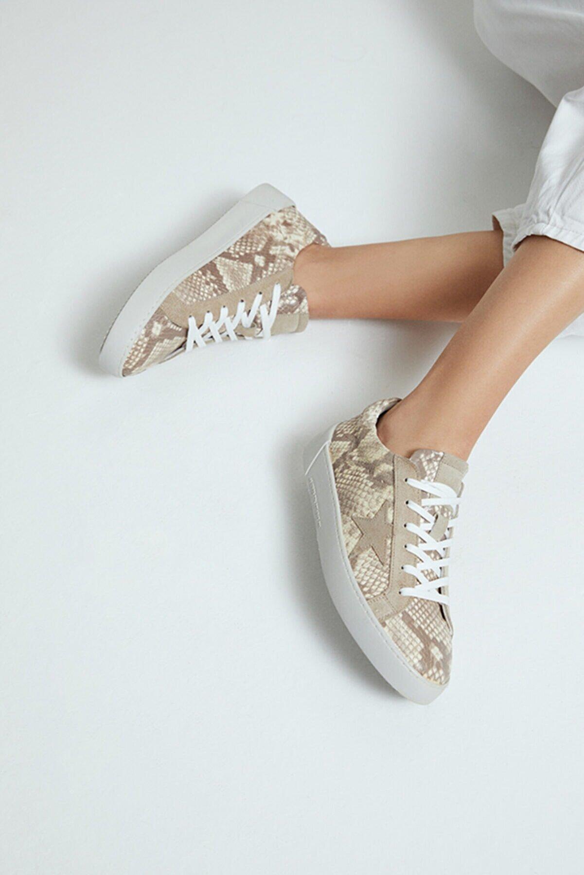 Derimod Kadın  Desenli Sneaker