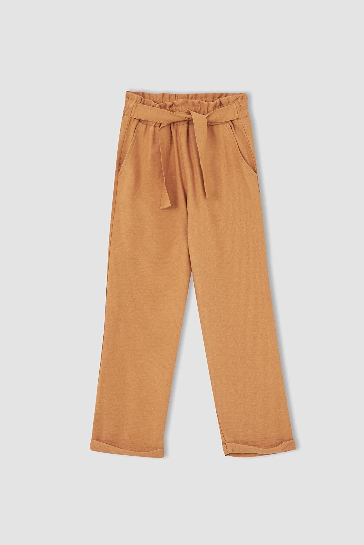 Defacto Kız Çocuk Carrot Fit Dokuma Pantolon T3873A621SPB